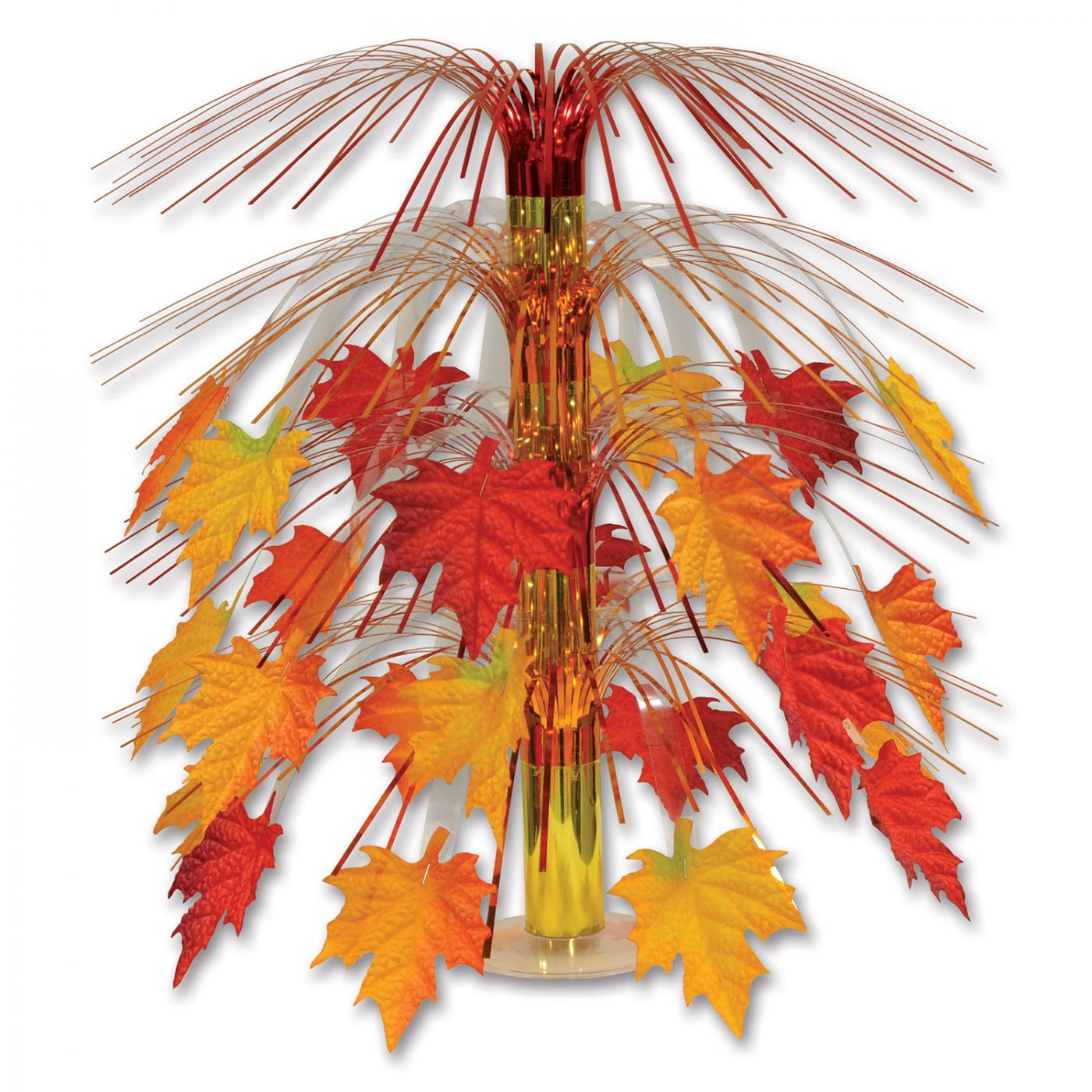 Fabric Fall Leaves Cascade Centerpiece (6) image