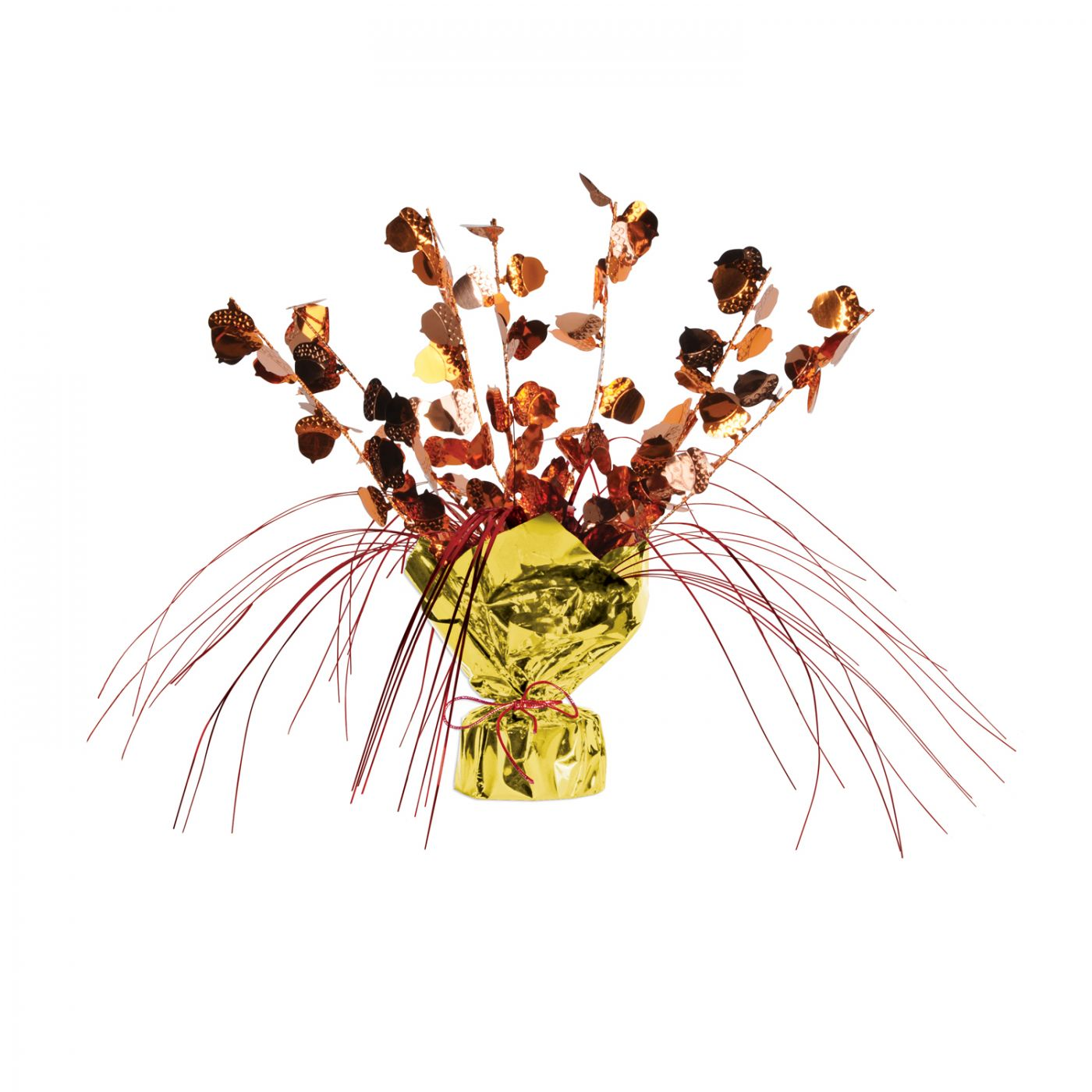 Image of Acorn Gleam 'N Spray Centerpiece