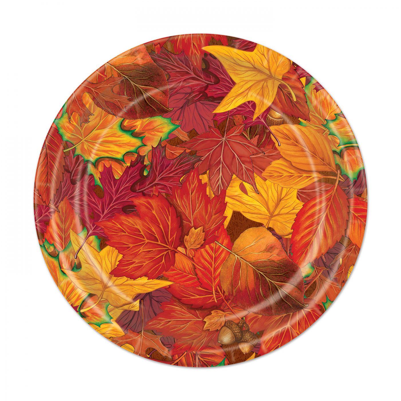 Fall Leaf Plates image
