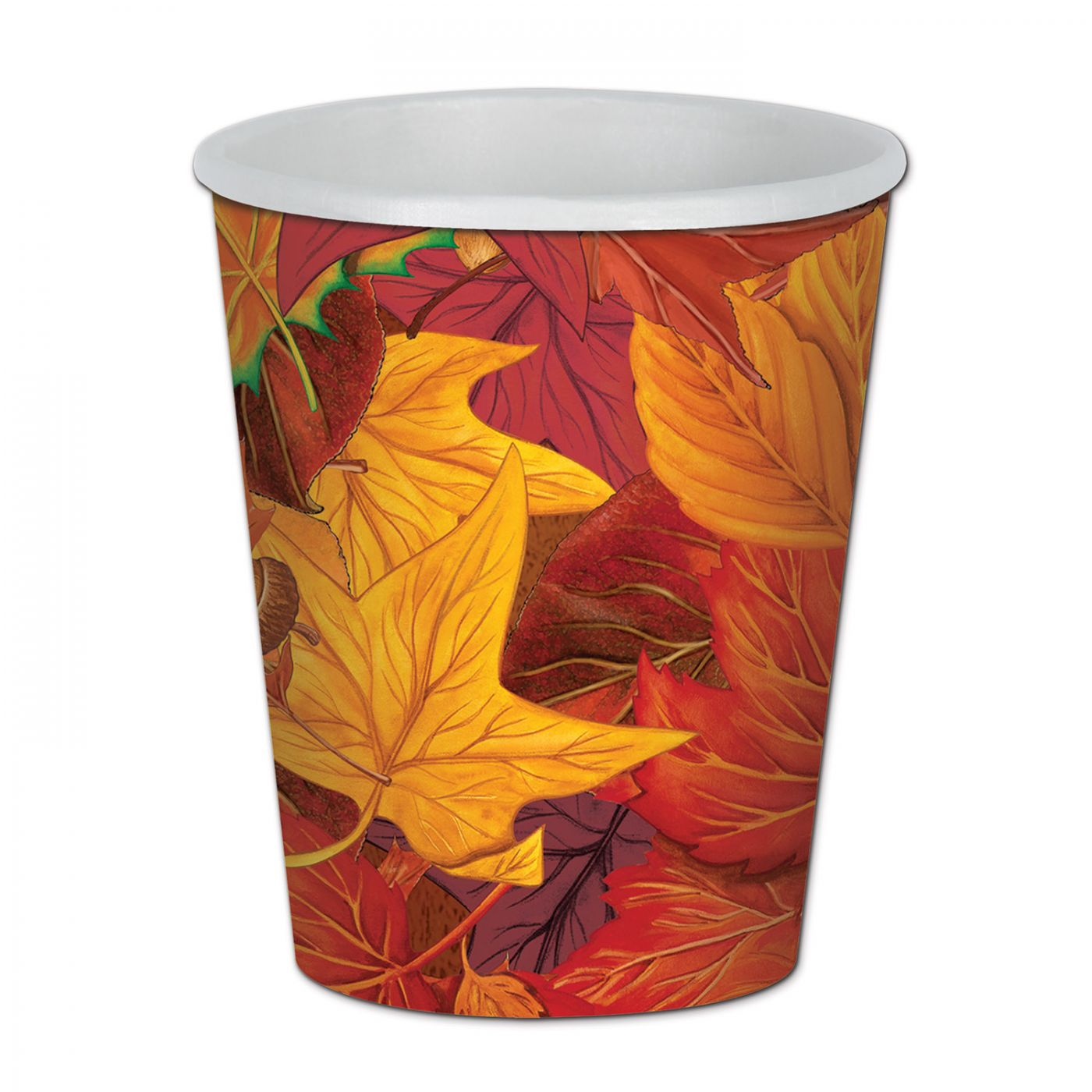 Fall Leaf Beverage Cups image