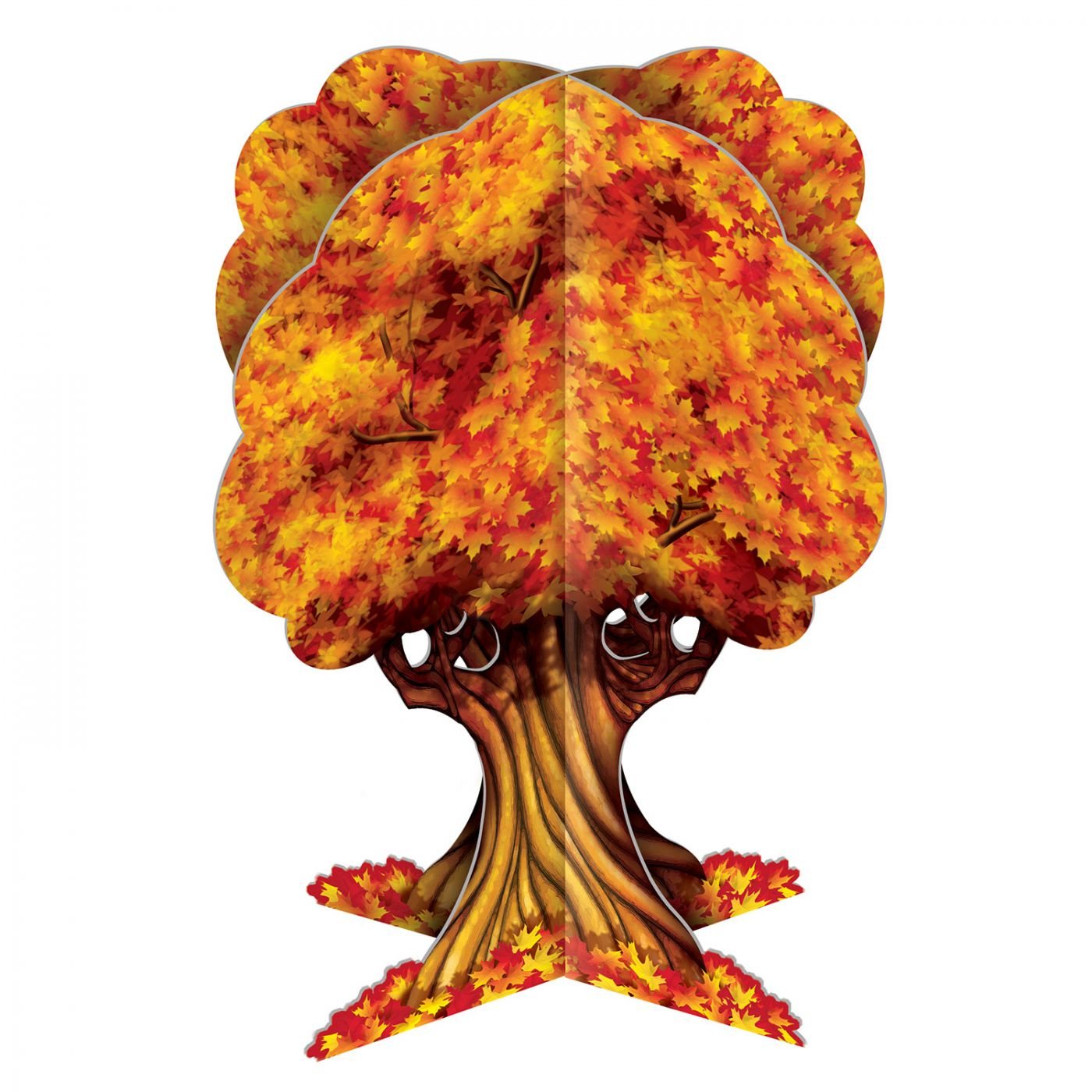 Image of 3-D Fall Tree Centerpiece