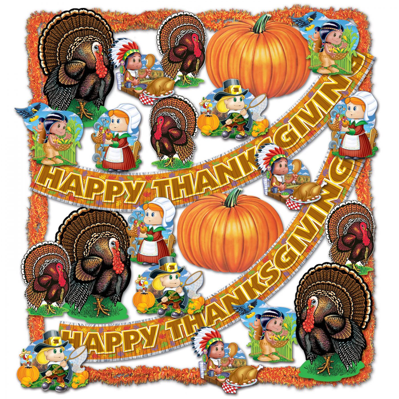 FR Thanksgiving Trimorama - 25 Pcs (1) image