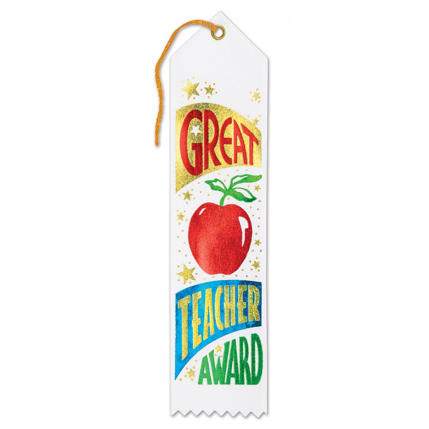 Great Teacher Award Ribbon (6) image