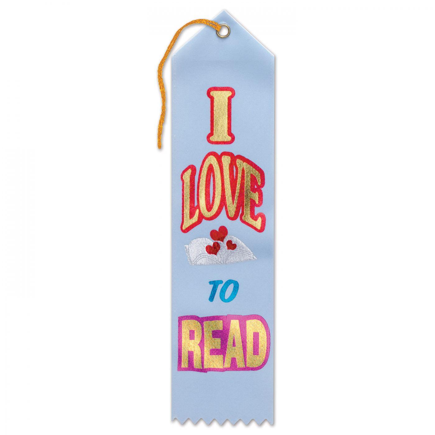 I Love To Read Award Ribbon (6) image