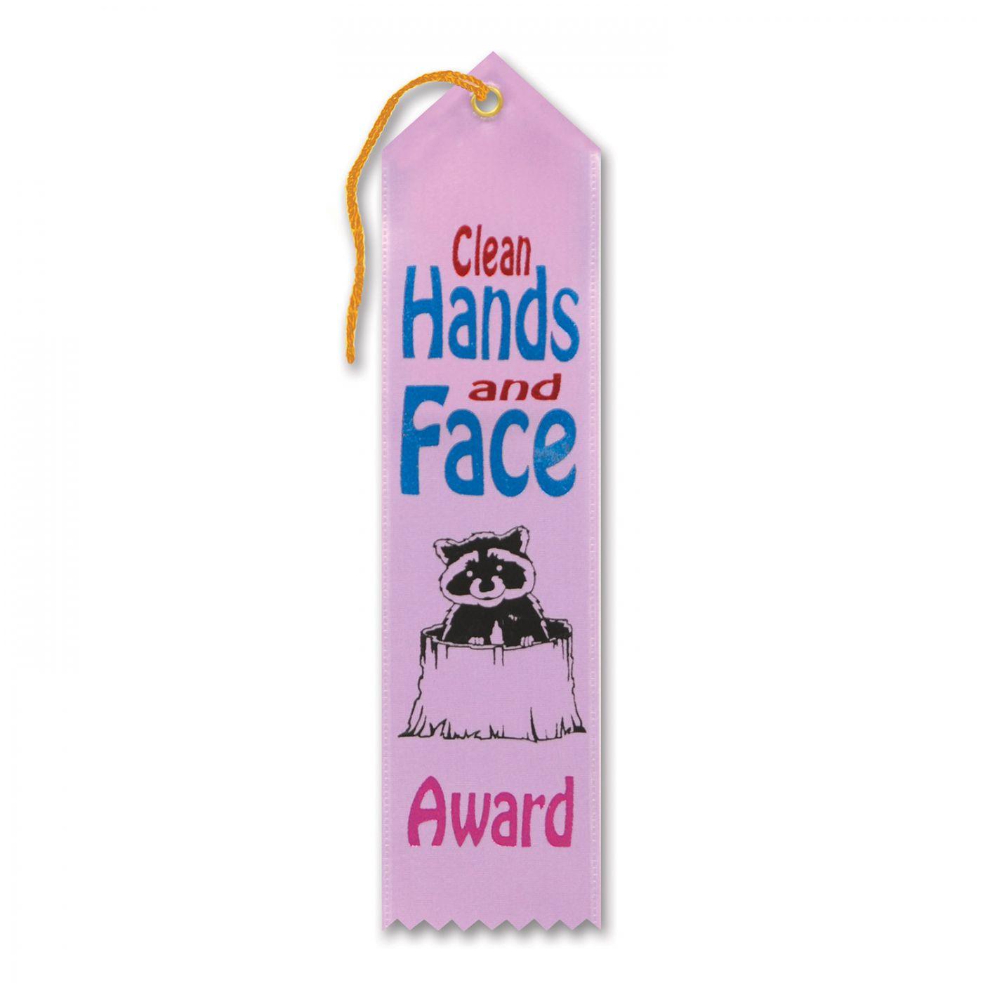 Clean Hands & Face Award Ribbon (6) image