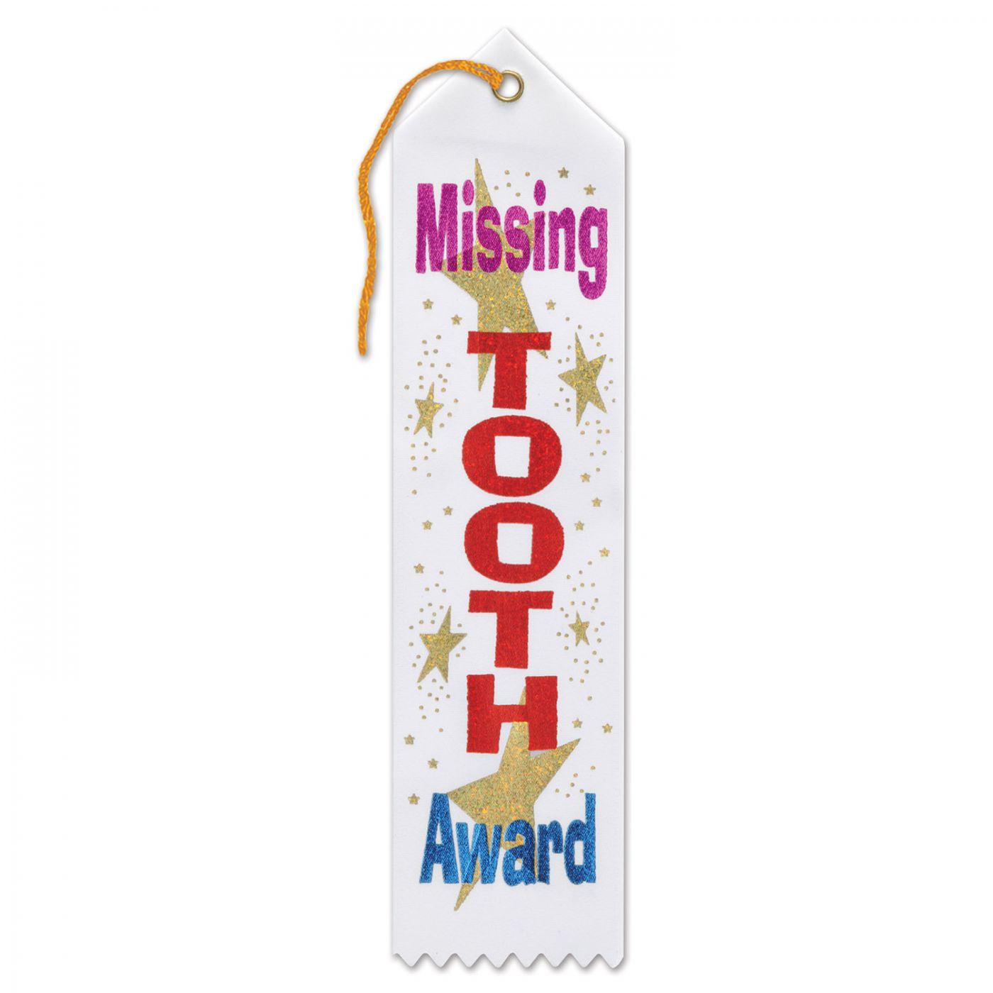 Missing Tooth Award Ribbon (6) image