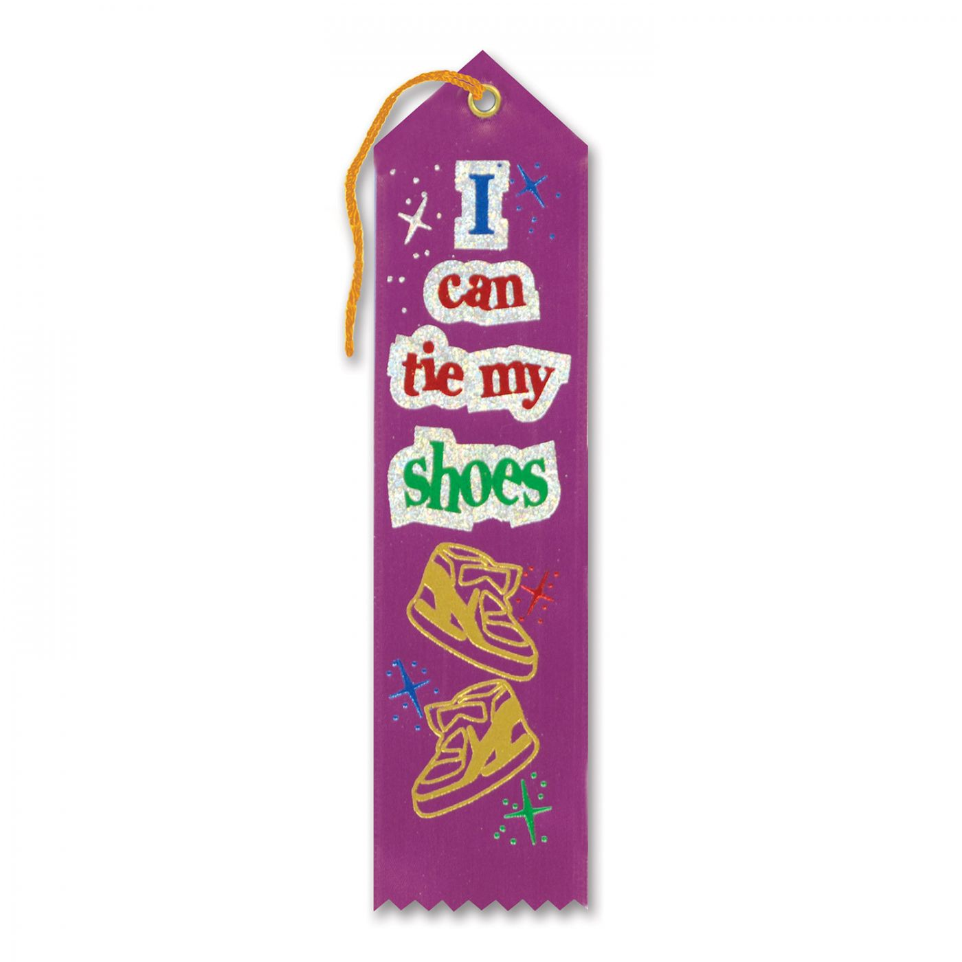 I Can Tie My Shoes Award Ribbon (6) image