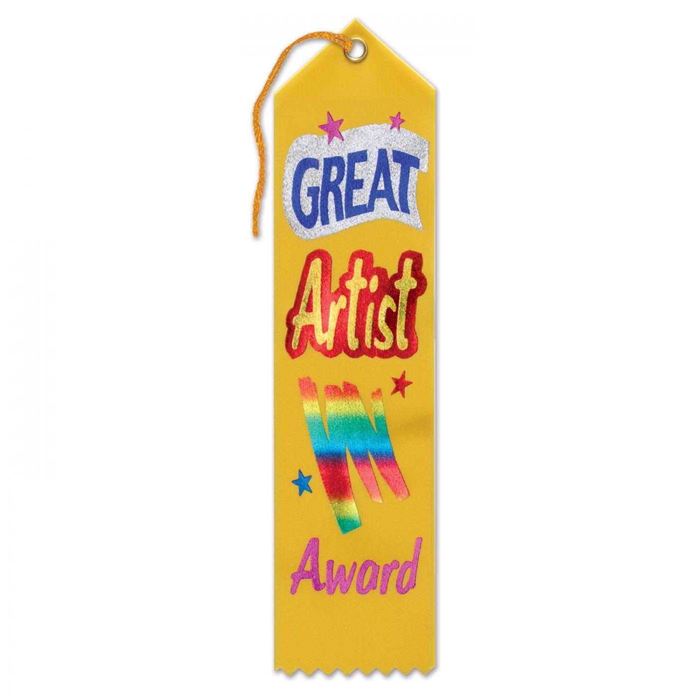 Great Artist Award Ribbon (6) image