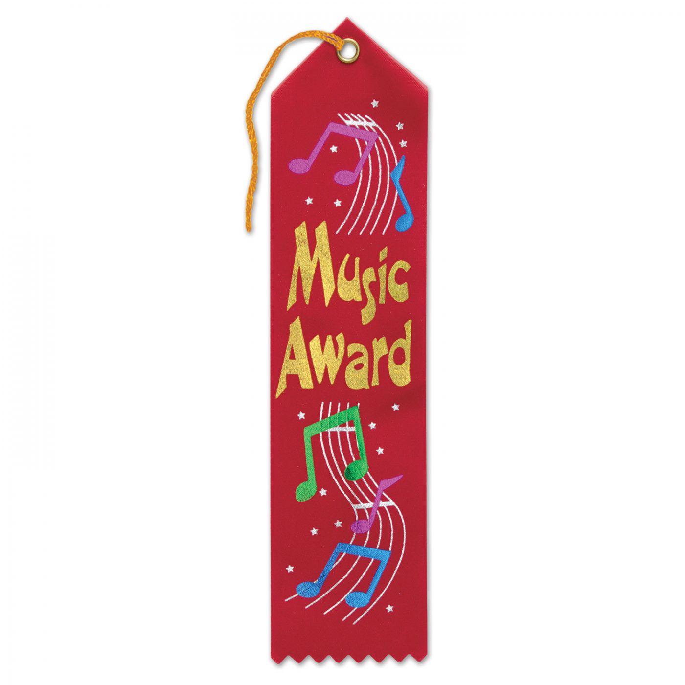 Music Award Ribbon (6) image