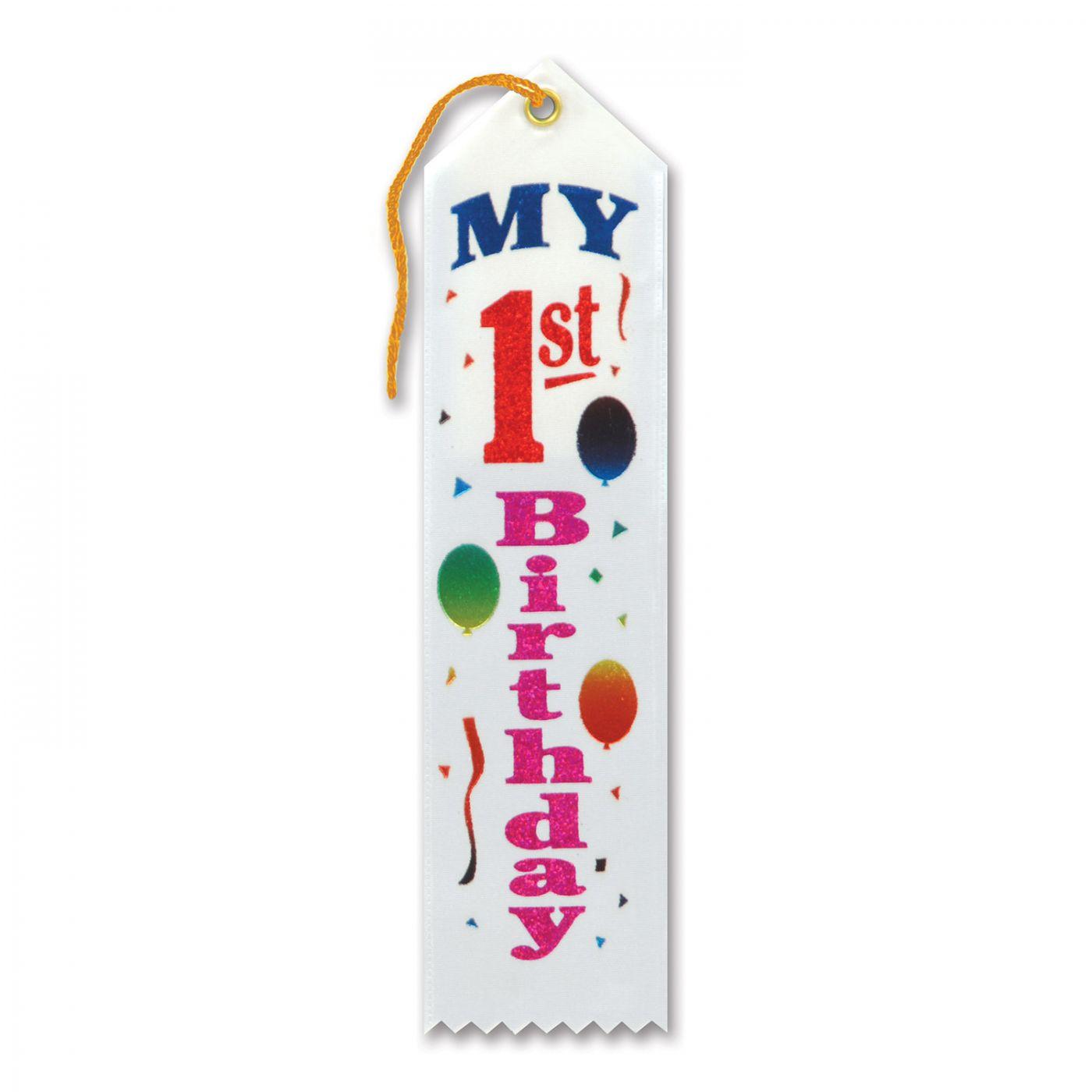 My 1st Birthday Award Ribbon (6) image