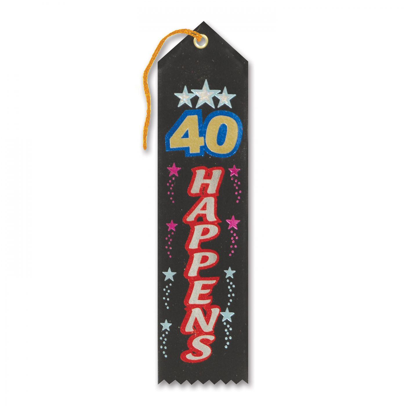 Image of 40 Happens Award Ribbon (6)