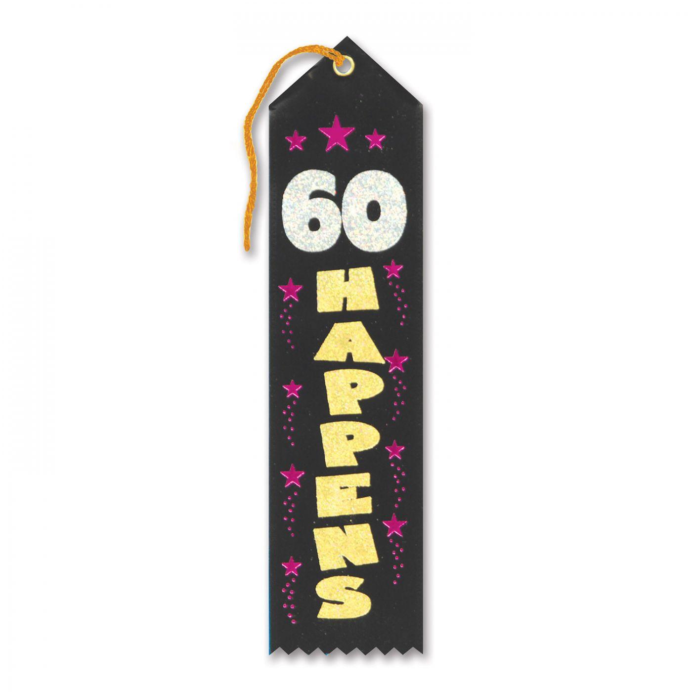Image of 60 Happens Award Ribbon (6)
