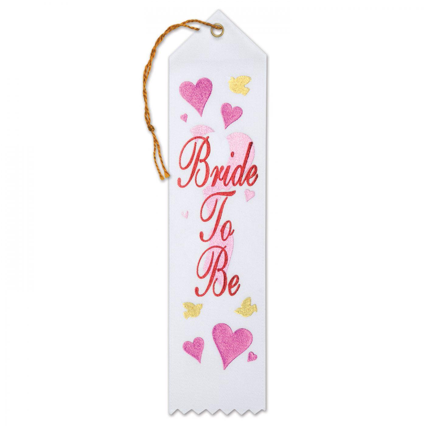 Image of Bride To Be Award Ribbon (6)