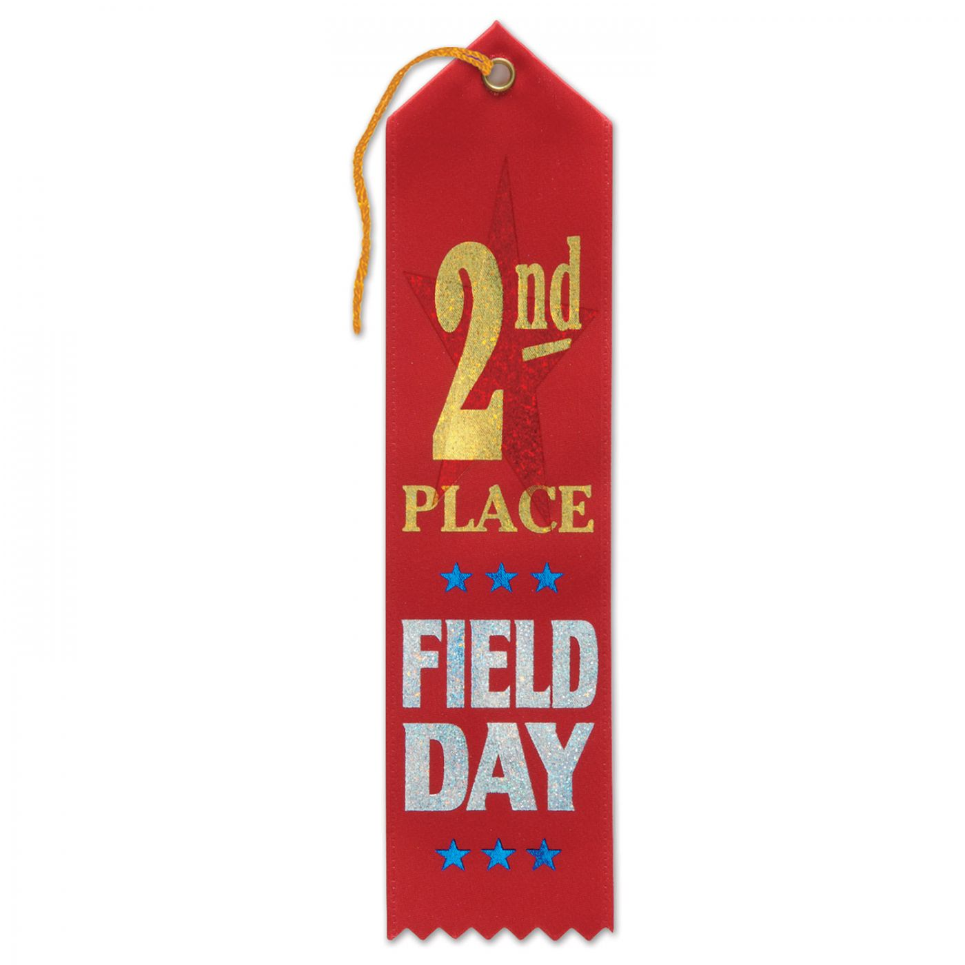 Image of 2nd Place Field Day Award Ribbon (6)