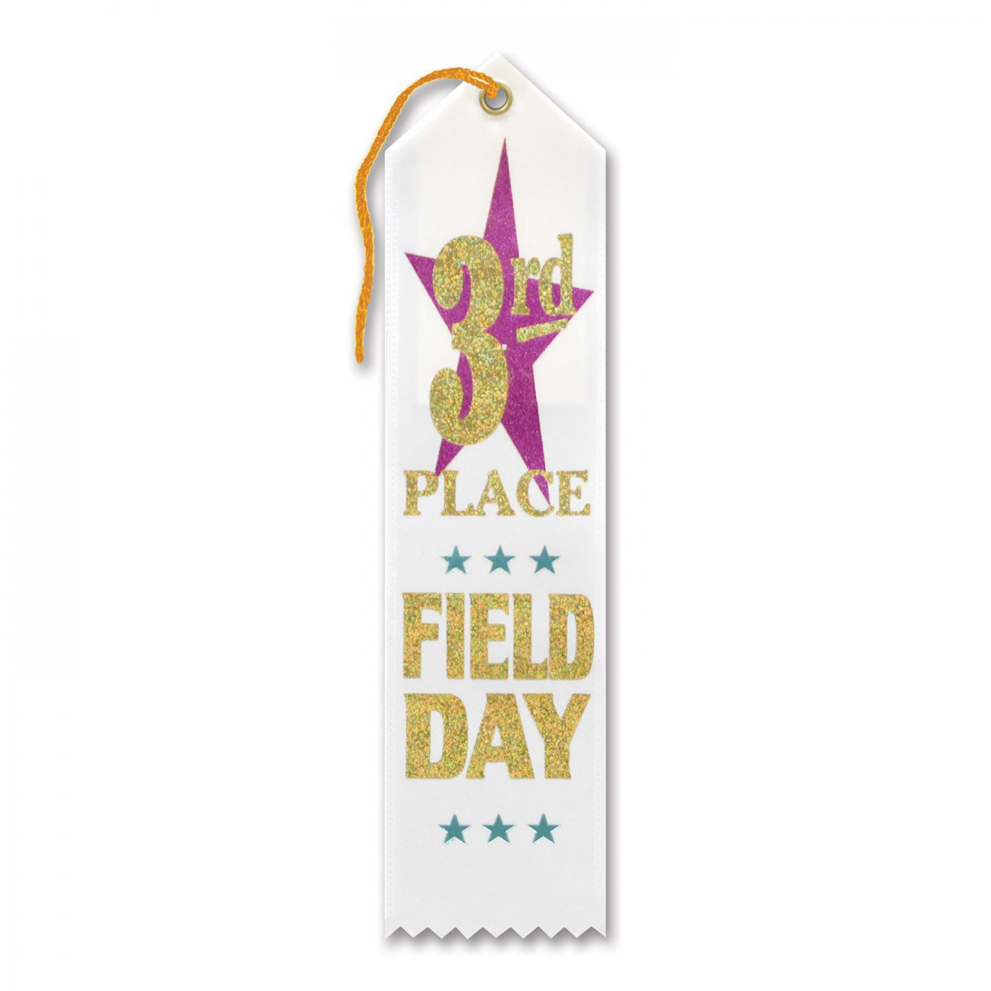 Image of 3rd Place Field Day Award Ribbon (6)