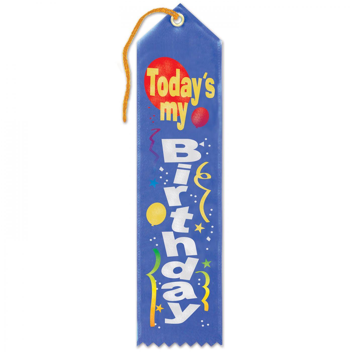 Today's My Birthday Award Ribbon (6) image