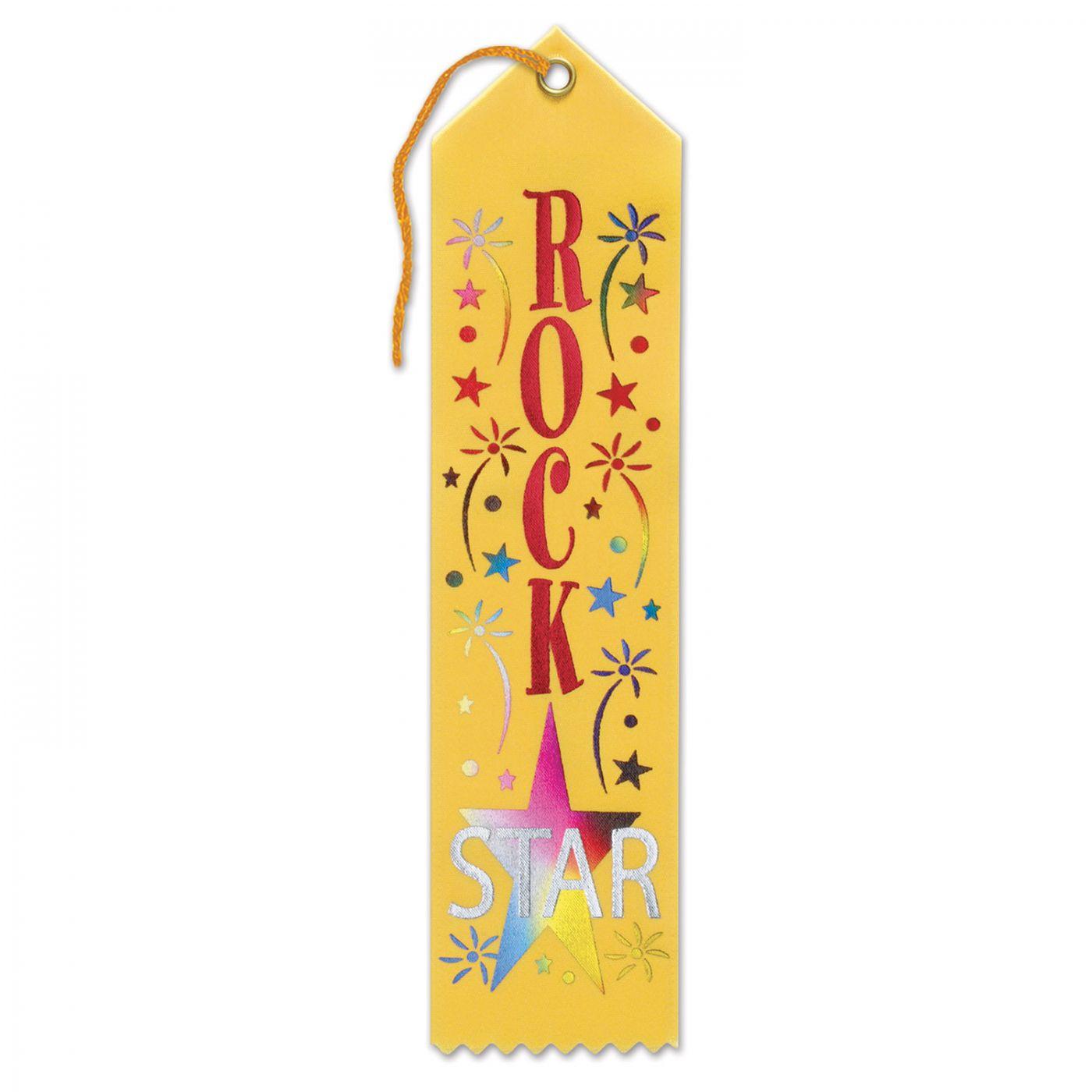 Rock Star Award Ribbon (6) image