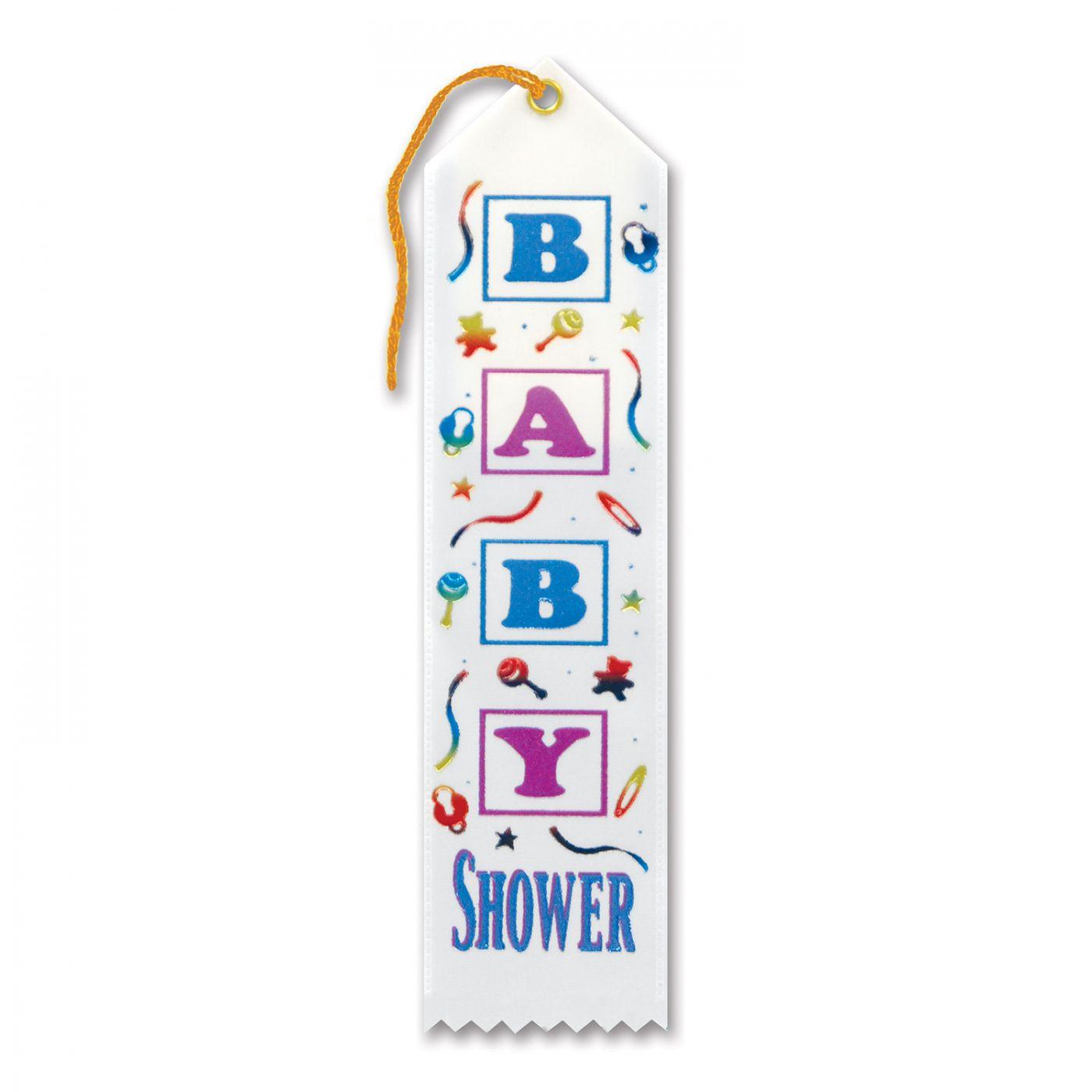 Baby Shower Award Ribbon (6) image