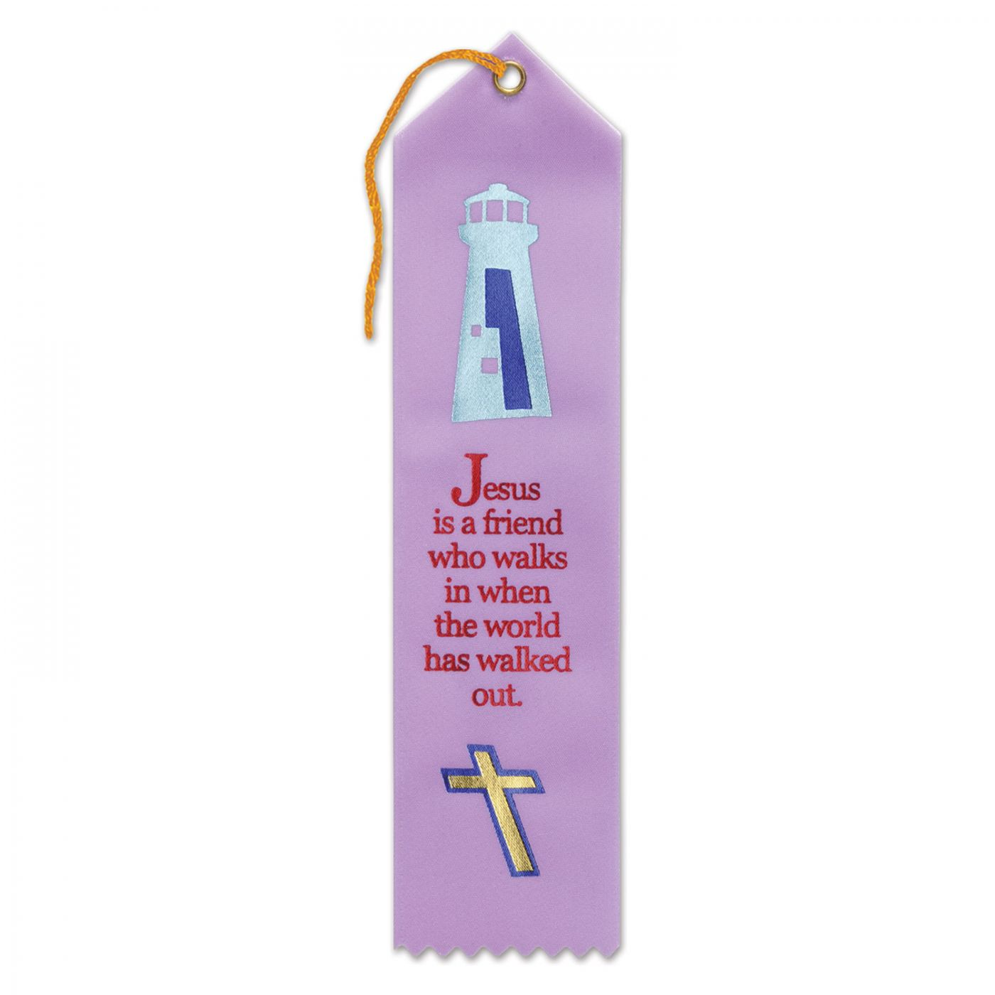 Jesus Is A Friend Ribbon (6) image