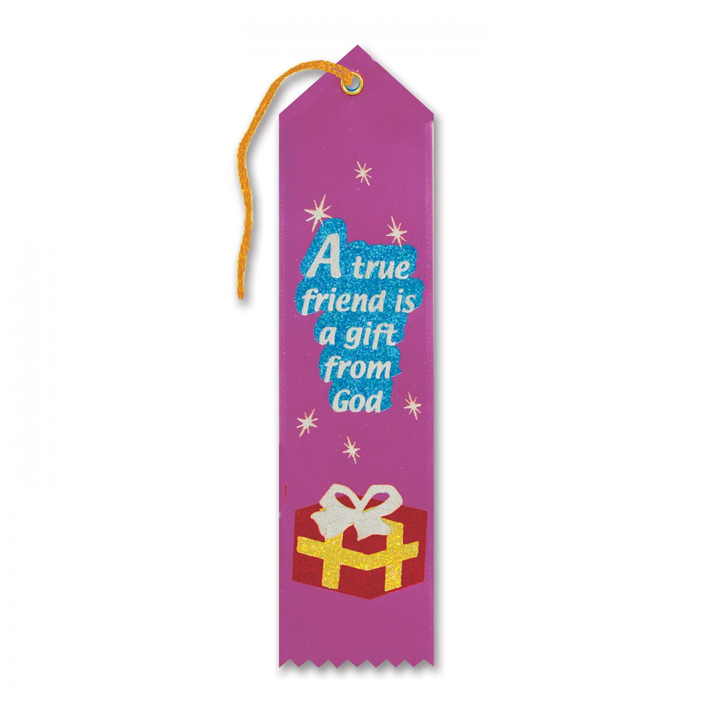 A True Friend Is A Gift From God Ribbon (6) image
