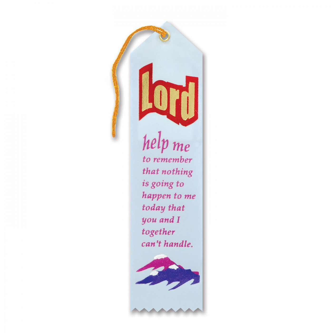 Lord Help Me To Remember Ribbon (6) image