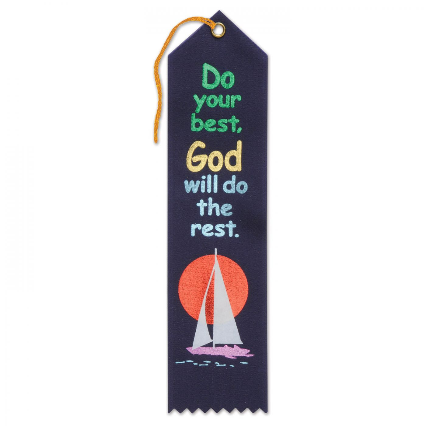 Do Your Best God Will Do The Rest Ribbon (6) image