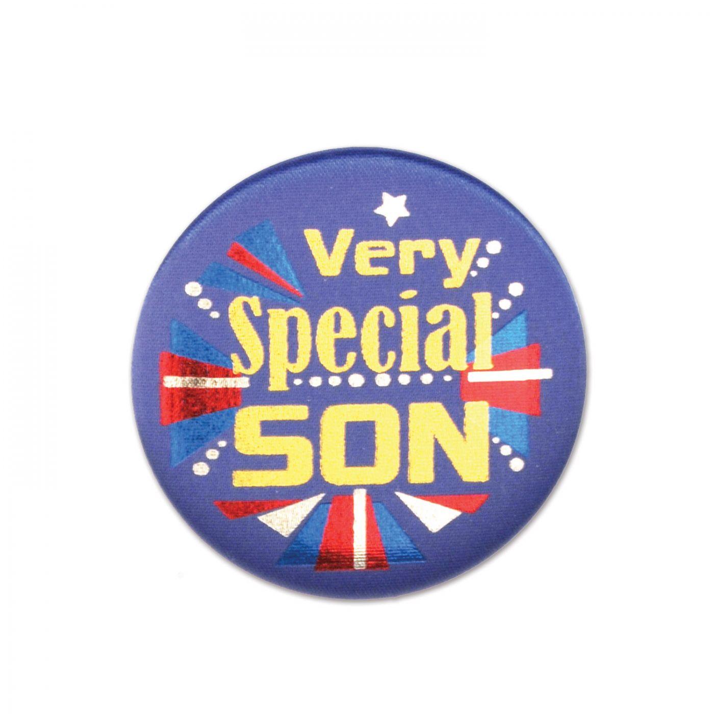 Very Special Son Satin Button (6) image