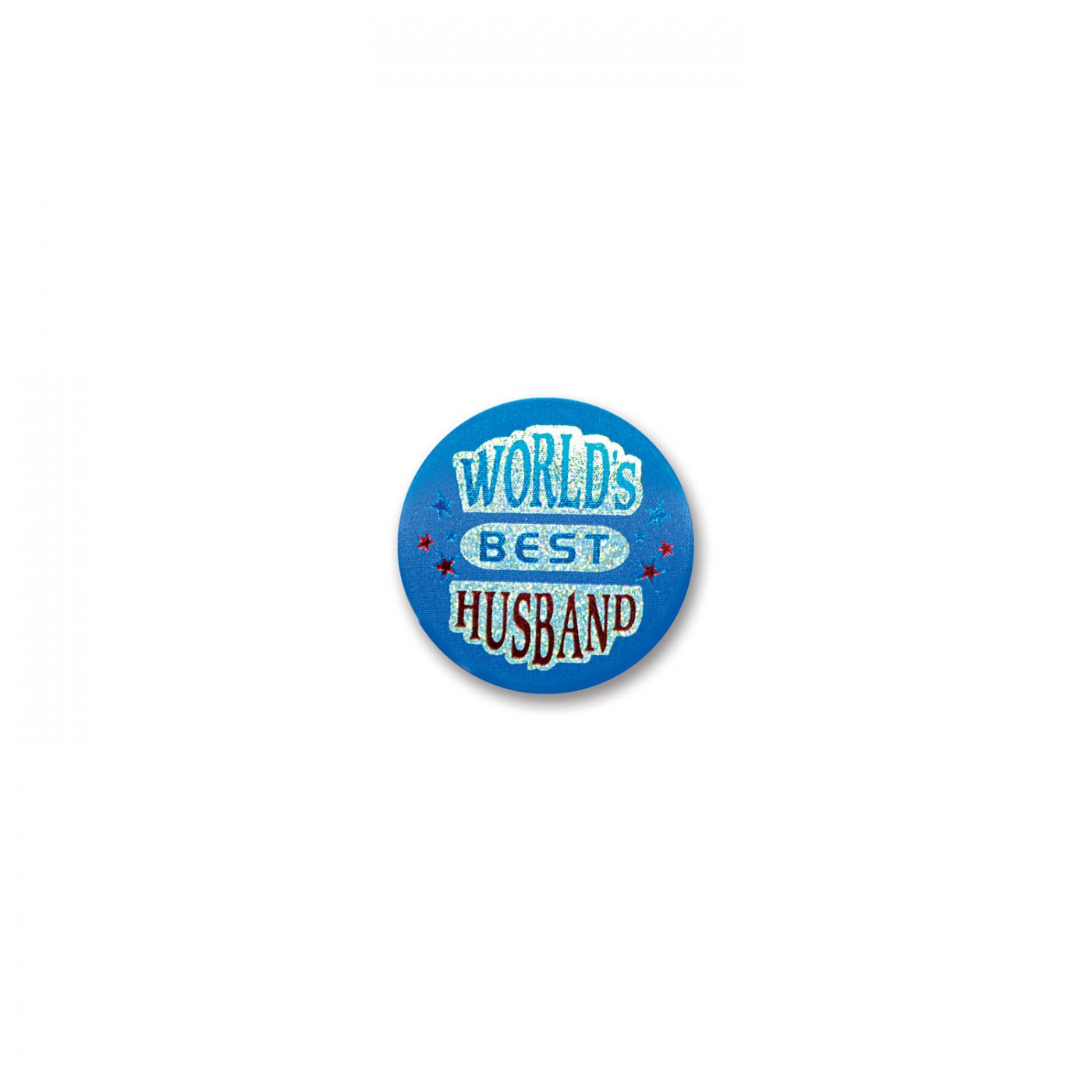 World's Best Husband Satin Button (6) image