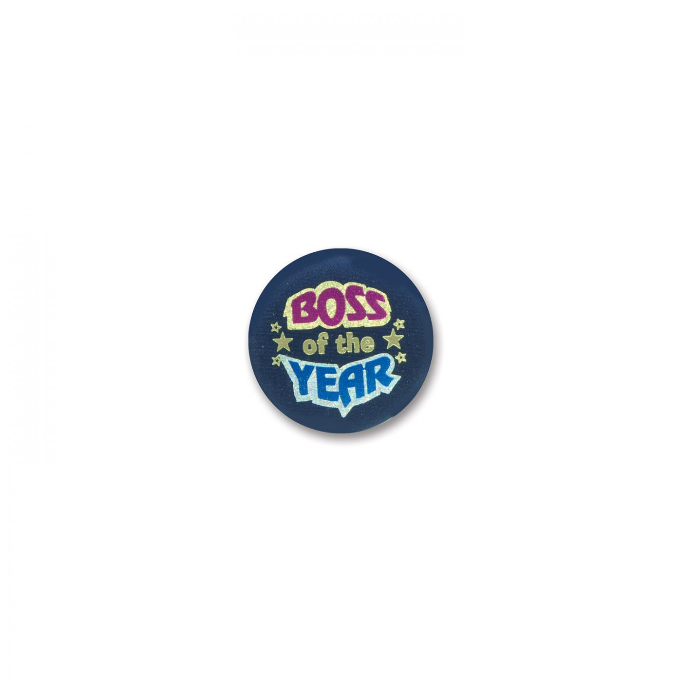 Image of Boss Of The Year Satin Button (6)