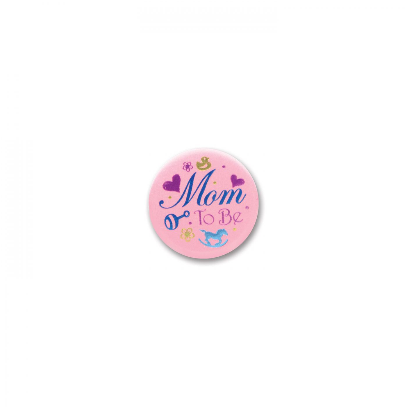 Mom To Be Satin Button (6) image