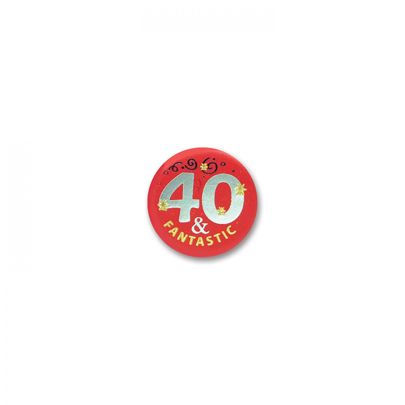 Image of 40 & Fantastic Satin Button (6)