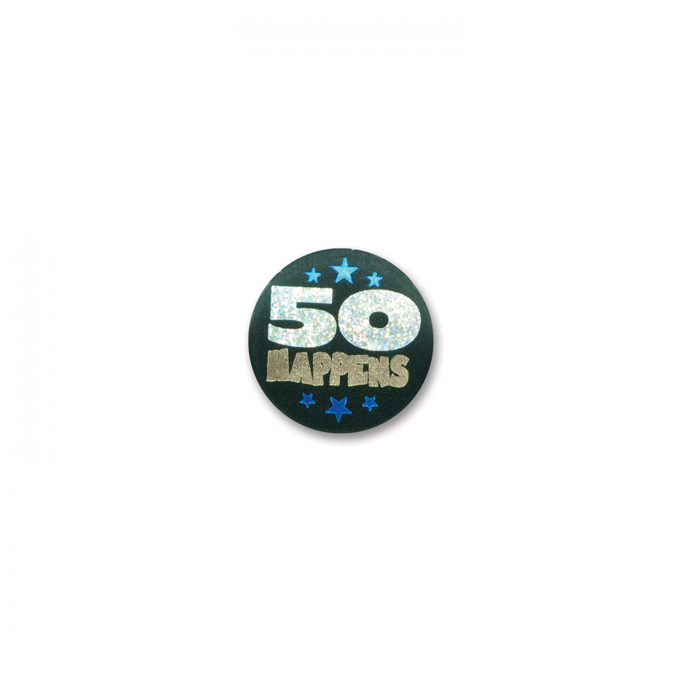 Image of 50 Happens Satin Button (6)