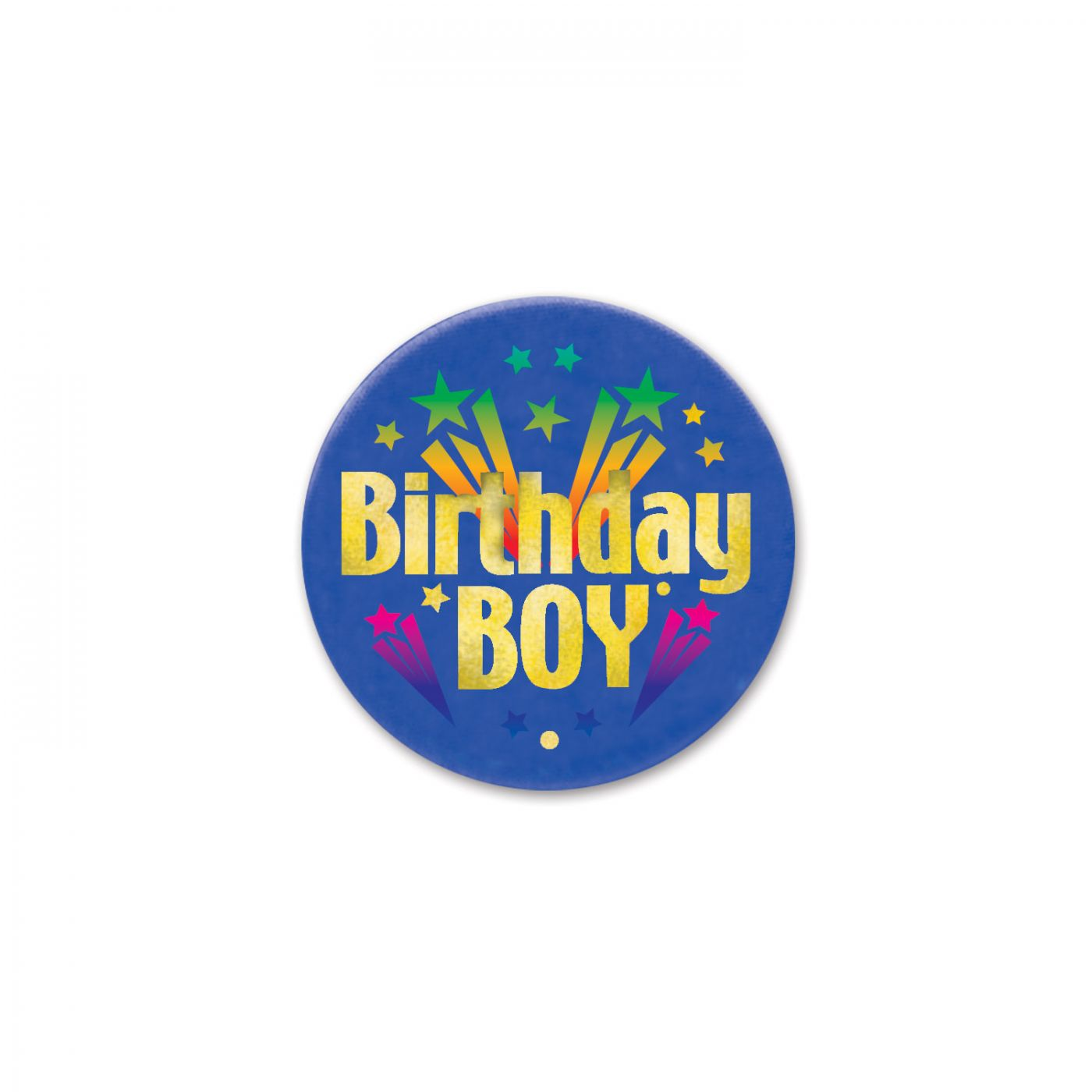 Image of Birthday Boy Satin Button (6)