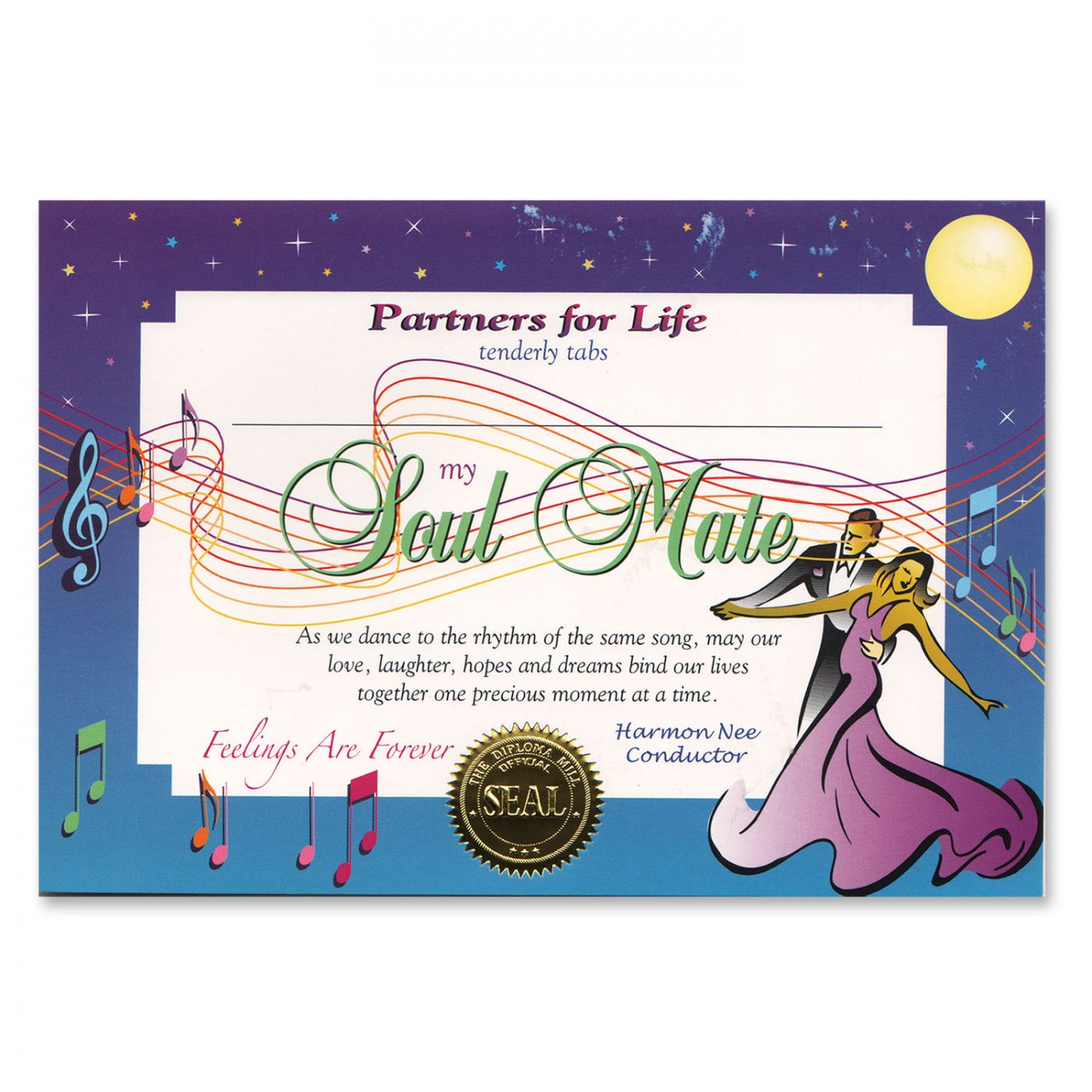 Soul Mate Certificate (6) image