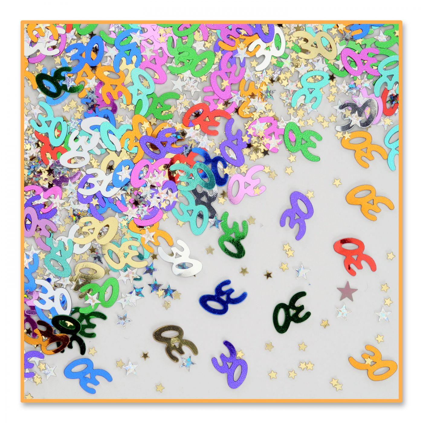 Image of 30 & Stars Confetti (6)