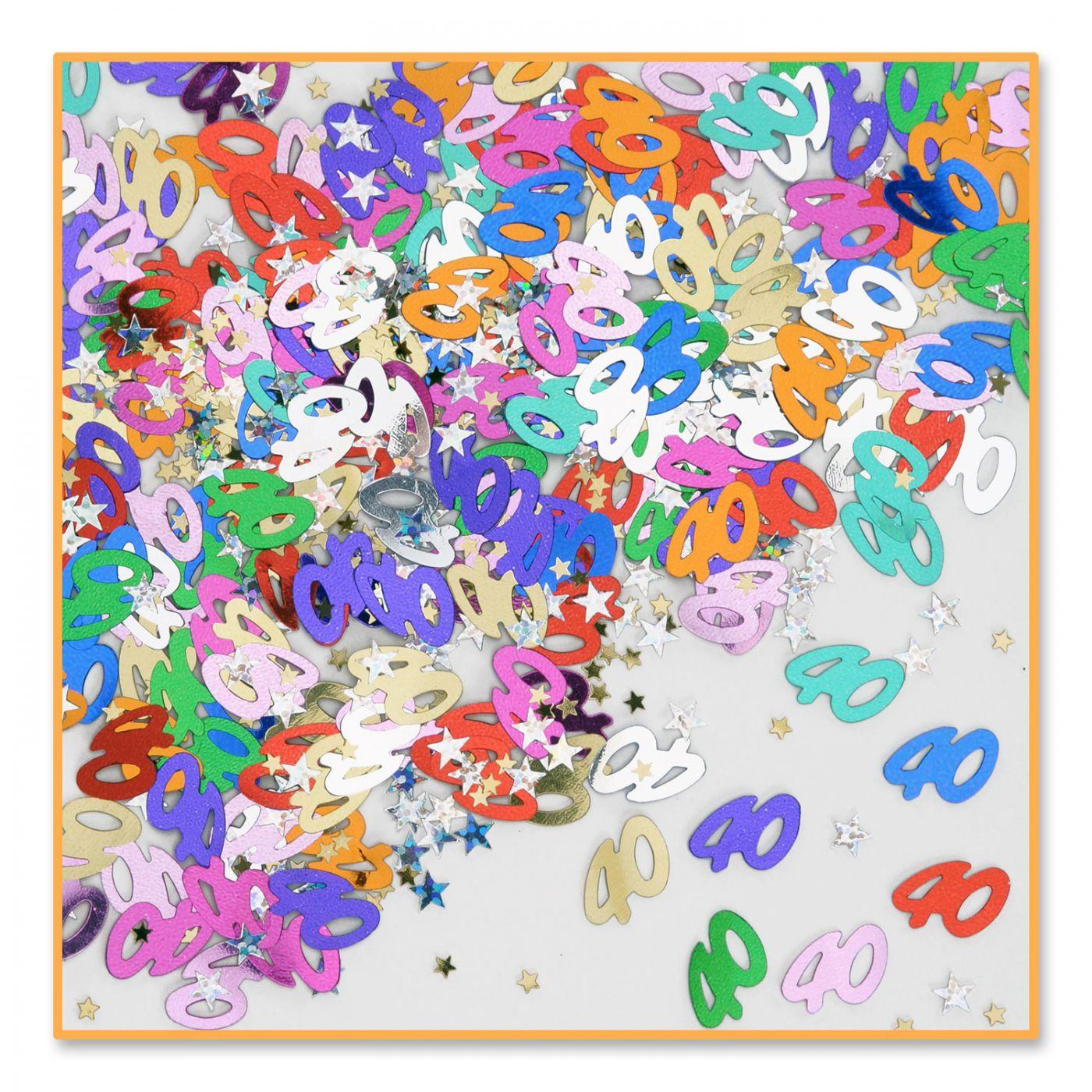 40 & Stars Confetti (6) image