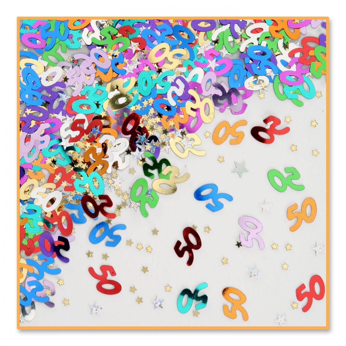 Image of 50 & Stars Confetti (6)