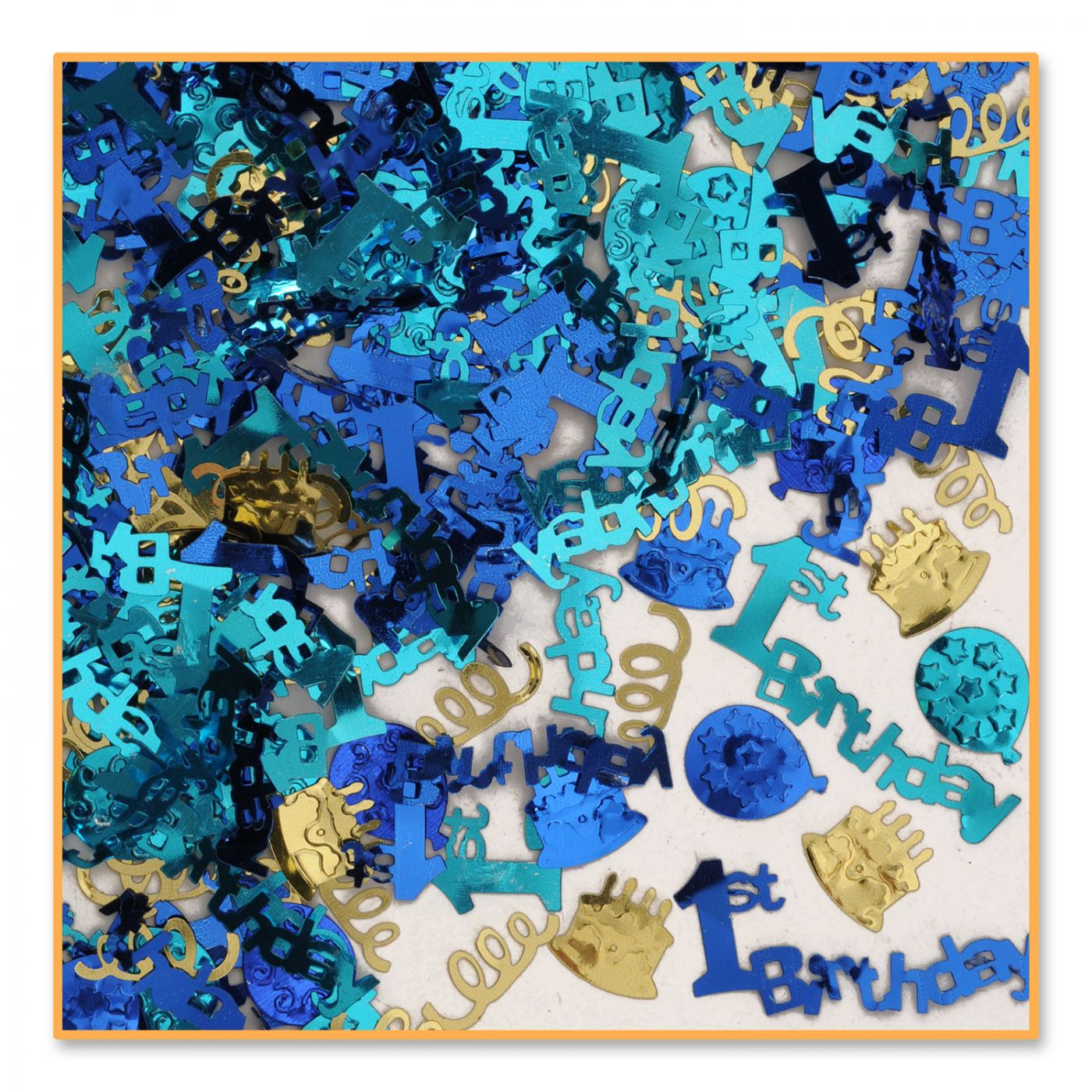 1st Birthday Confetti (6) image
