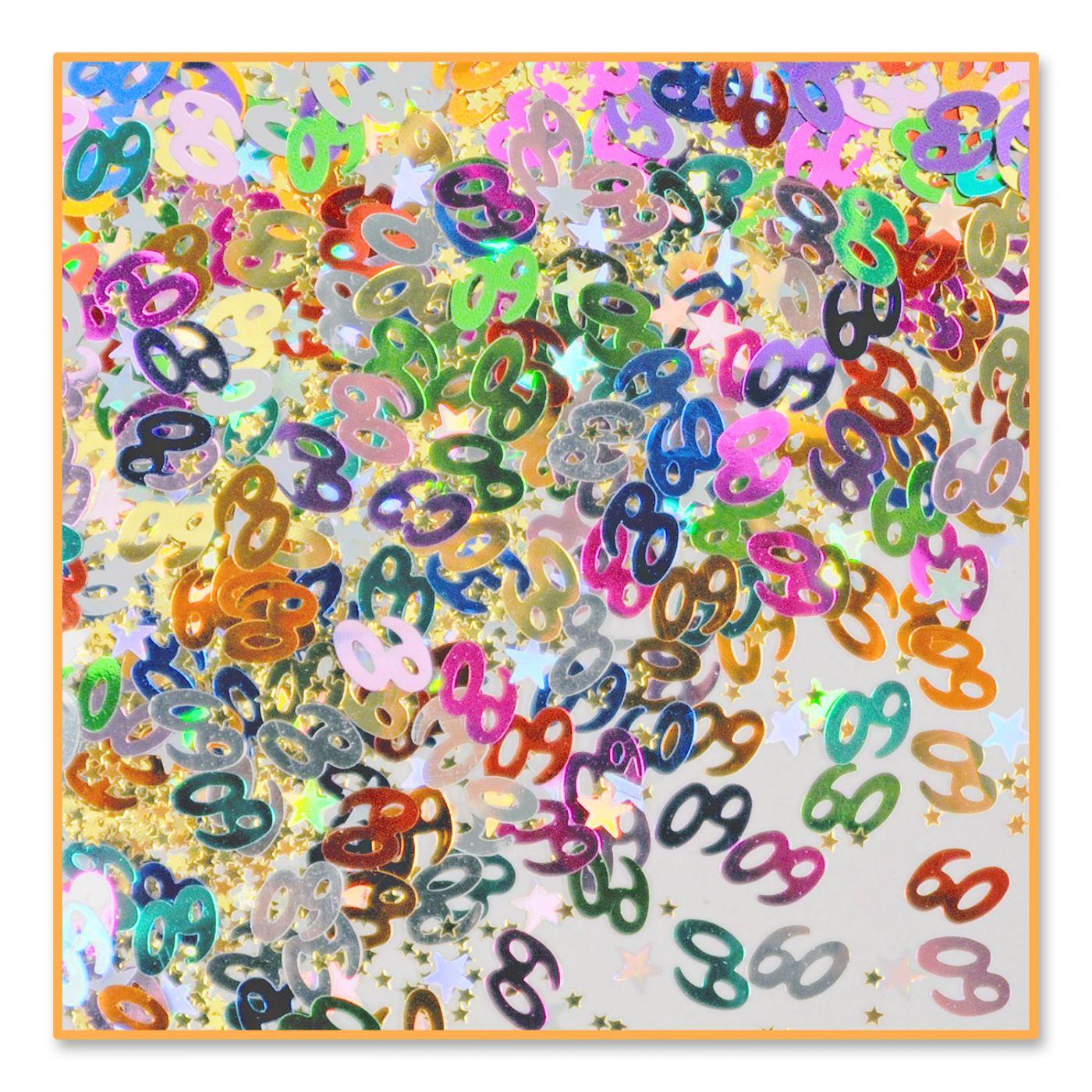 Image of 60 & Stars Confetti (6)