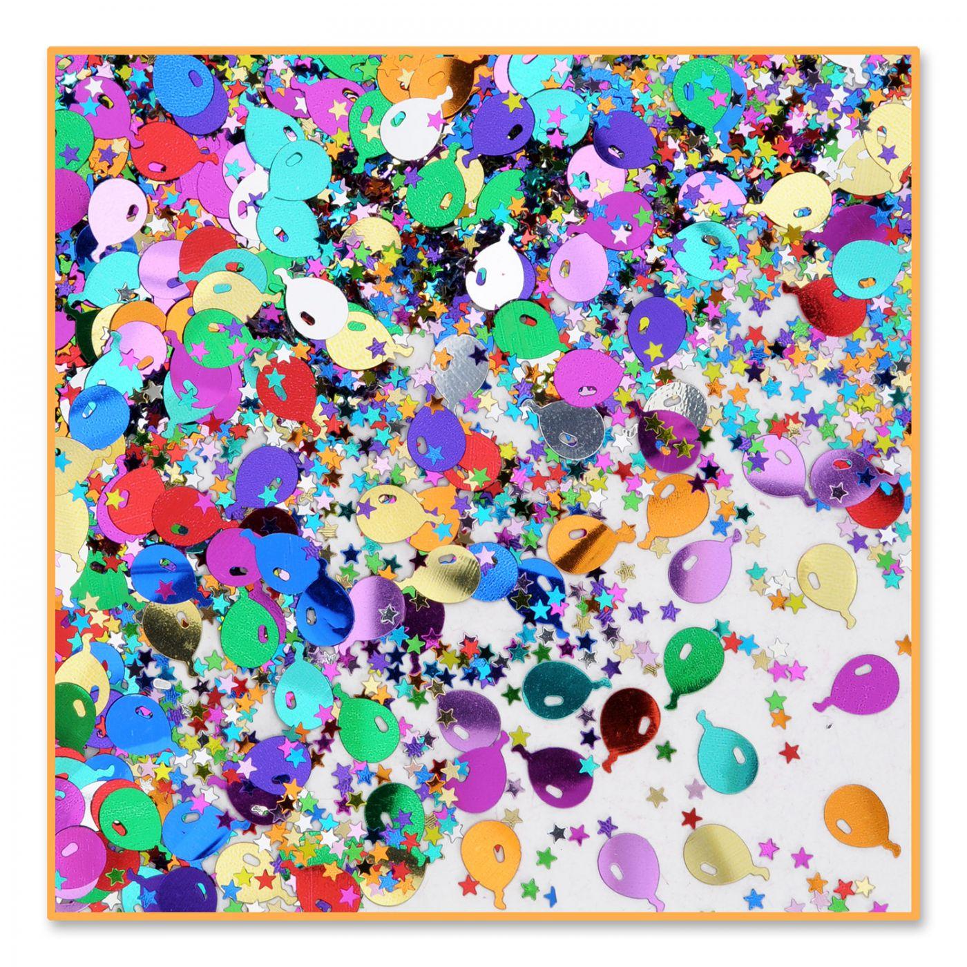 Image of Balloons & Stars Confetti (6)