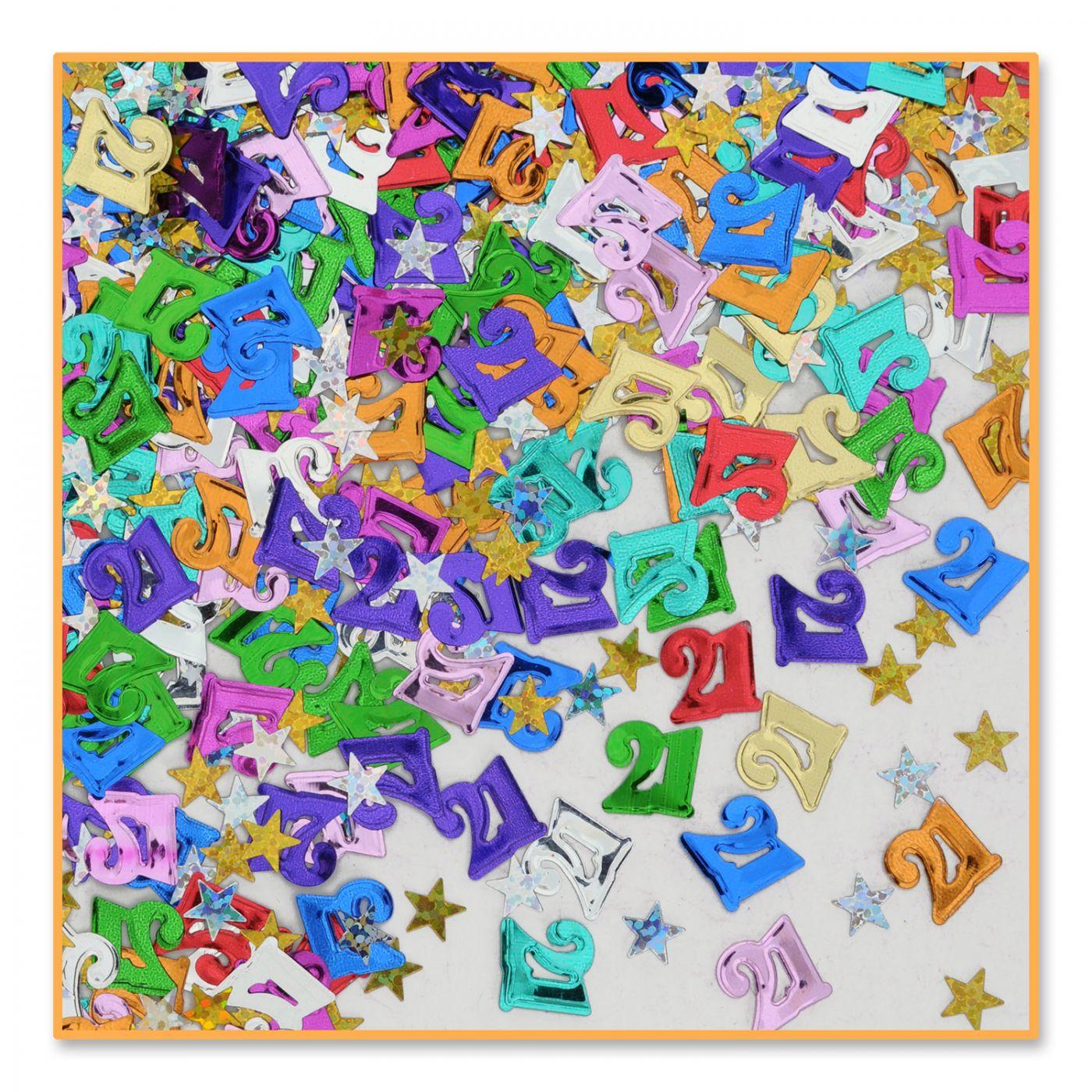 Image of 21 & Stars Confetti (6)