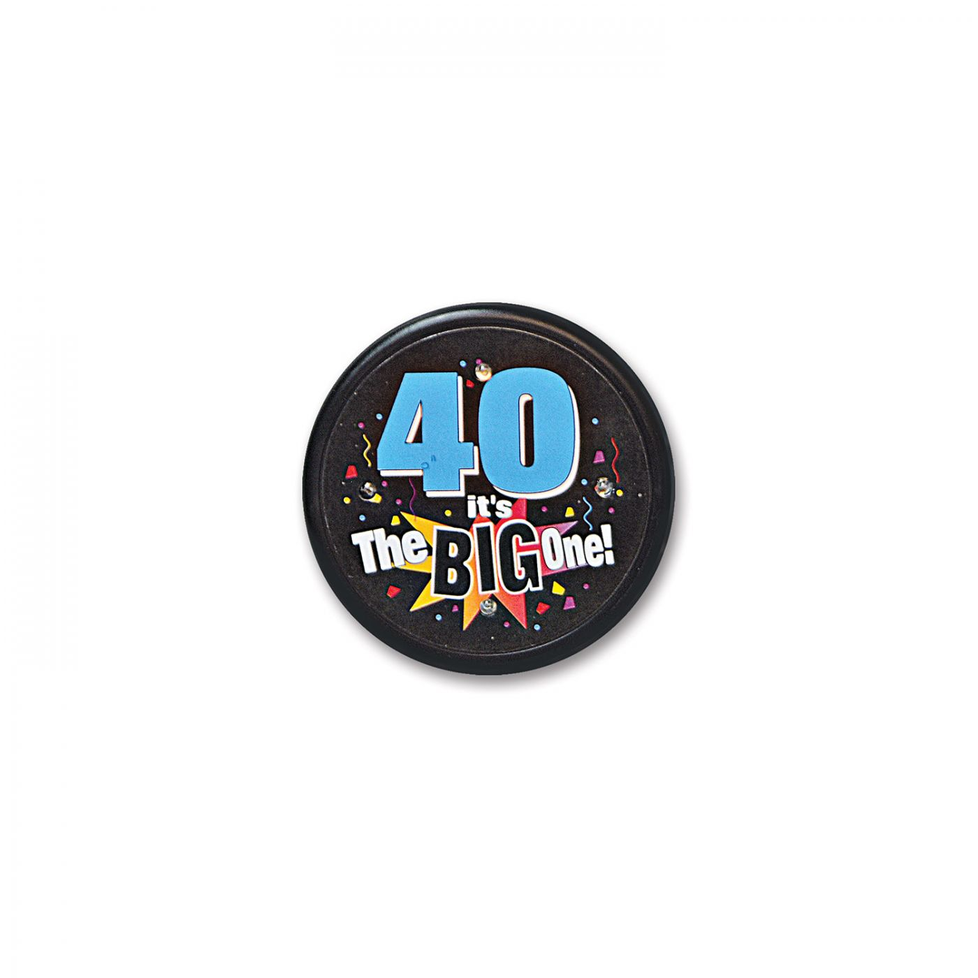 40 It's The Big One Flashing Button (6) image