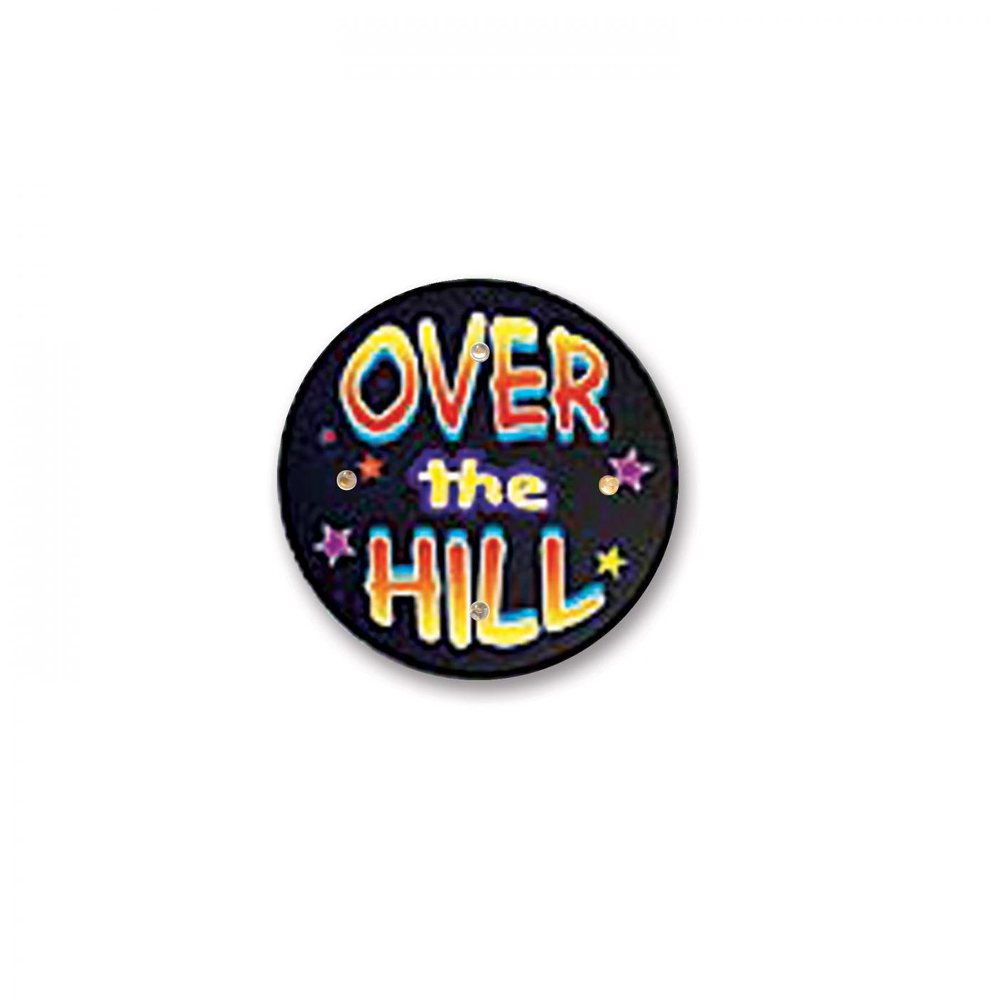Over The Hill Flashing Button (6) image