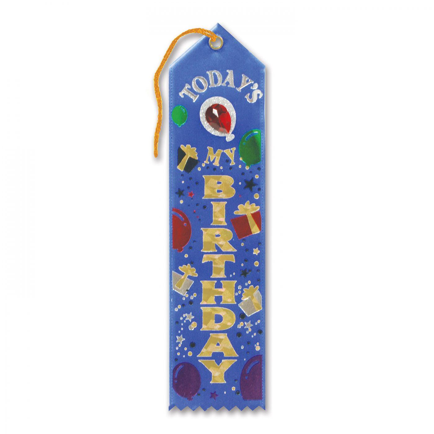 Today's My Birthday Jeweled Ribbon (6) image