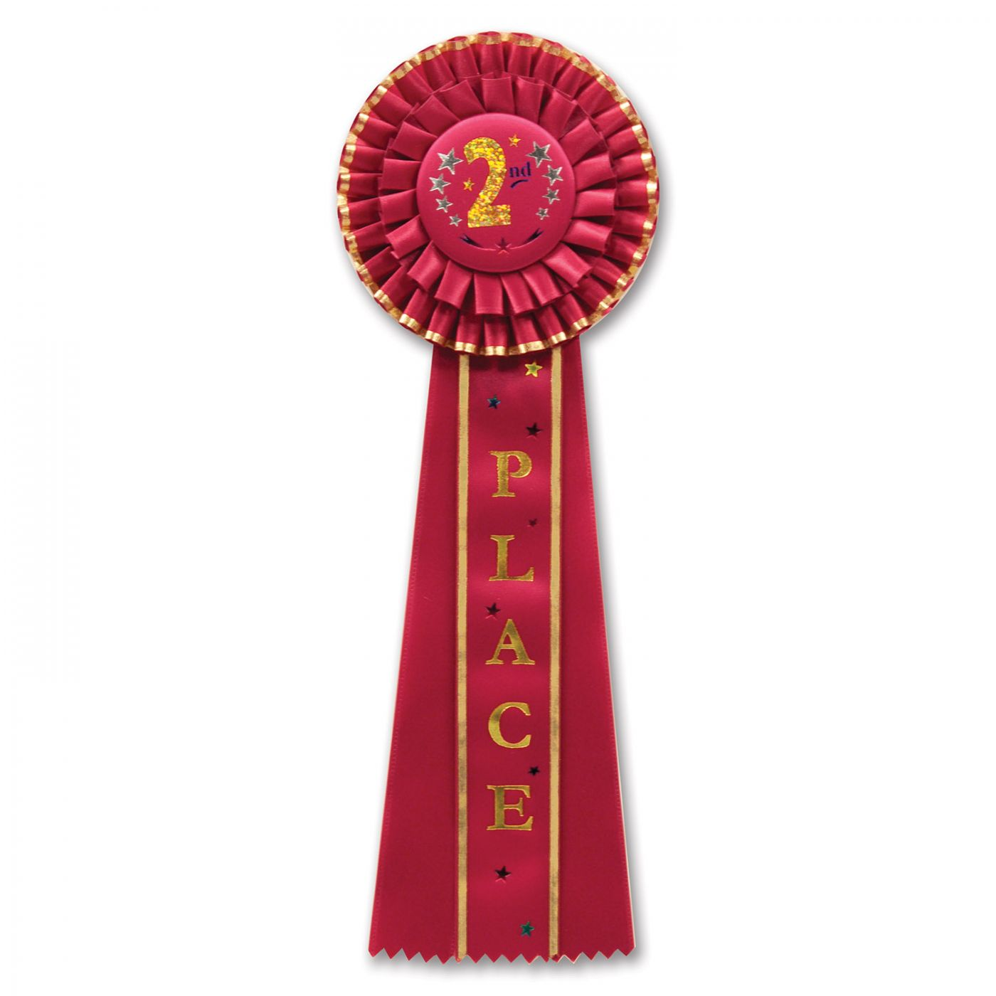 2nd Place Deluxe Rosette (3) image