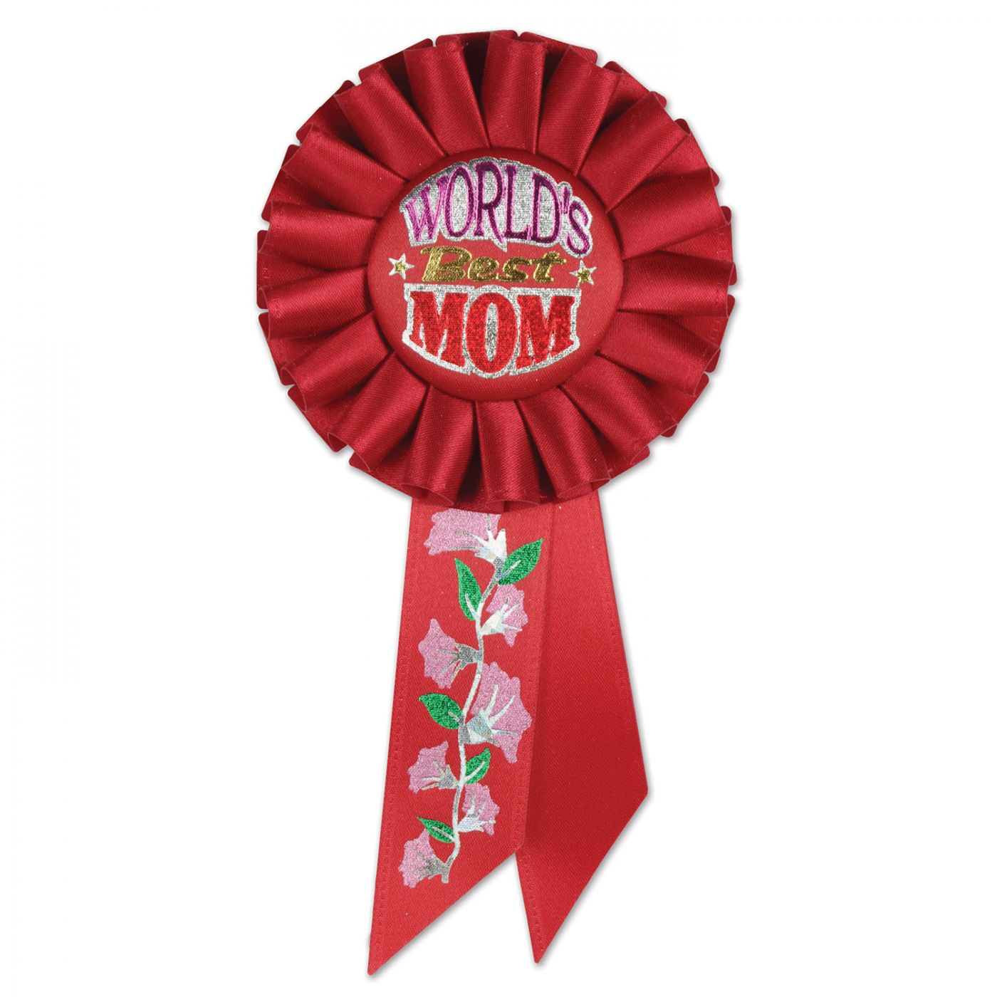 World's Best Mom Rosette (6) image