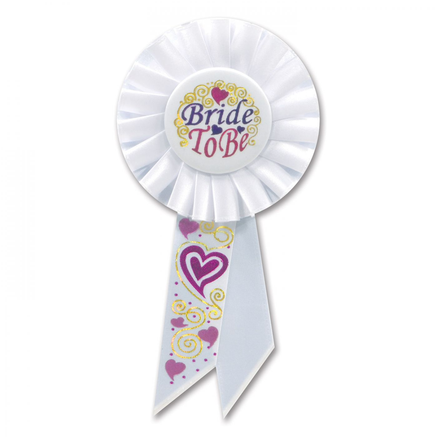 Image of Bride To Be Rosette (6)