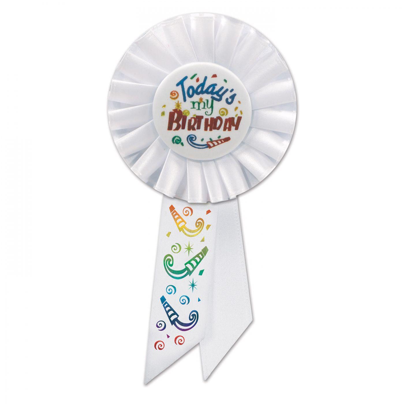 Today's My Birthday Rosette (6) image