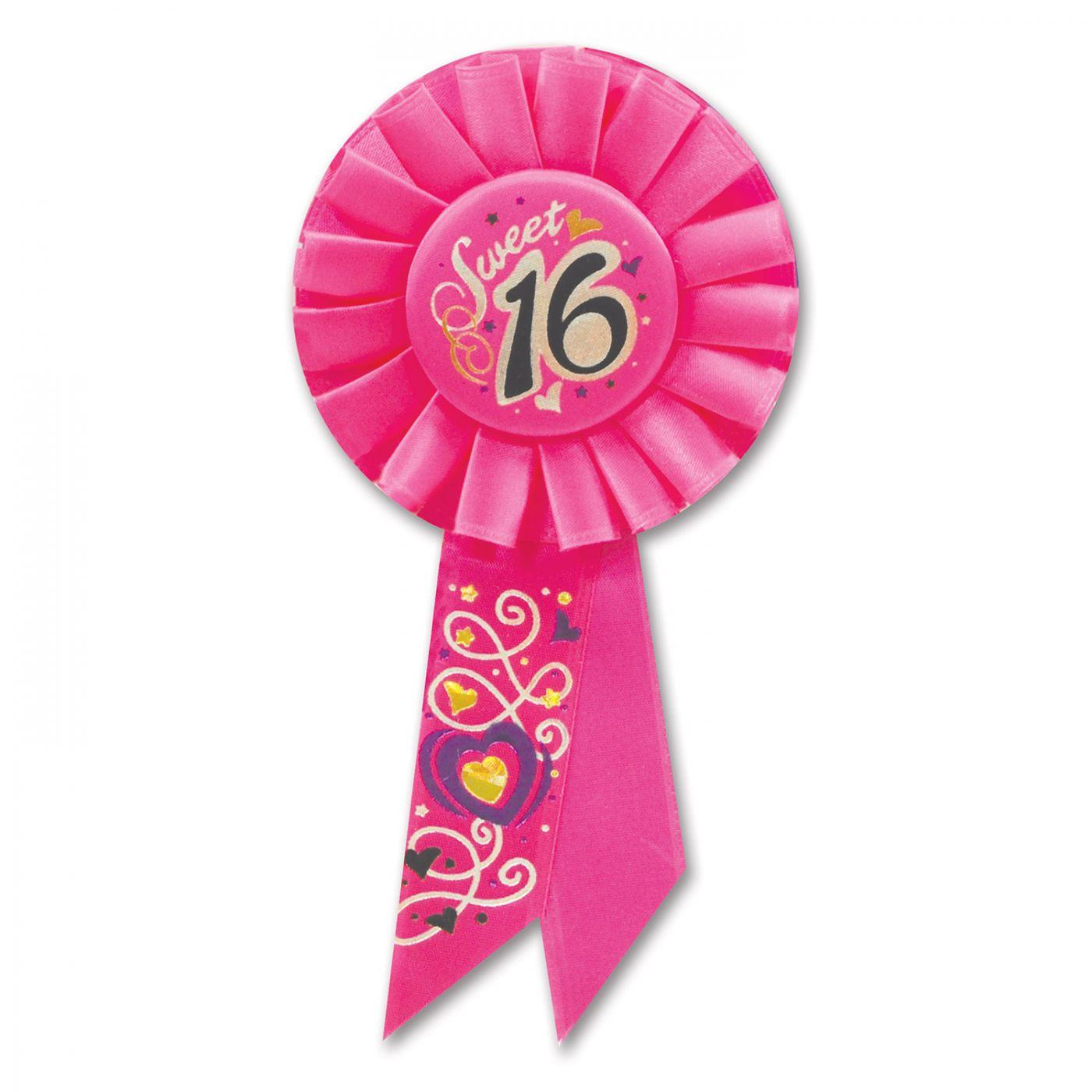 Sweet 16 Rosette (6) image