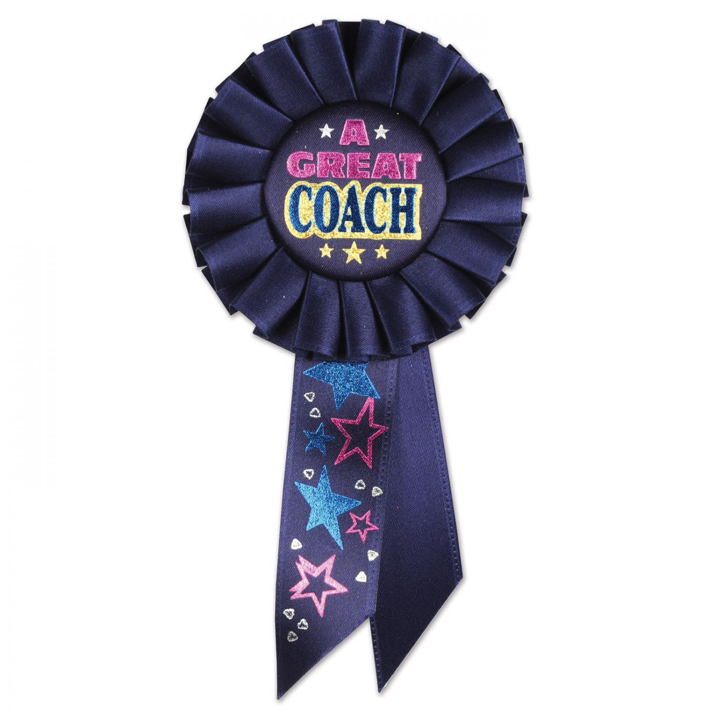 Image of A Great Coach Rosette (6)